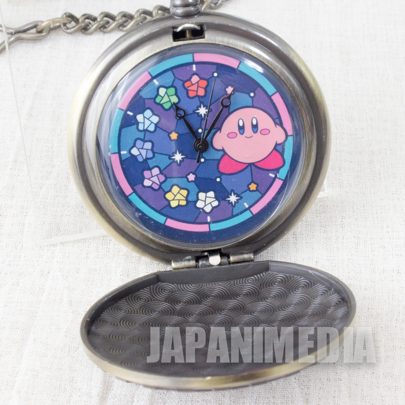 Kirby Super Star Galactic Nova Pocket Watch Medal SK Japan Nintendo