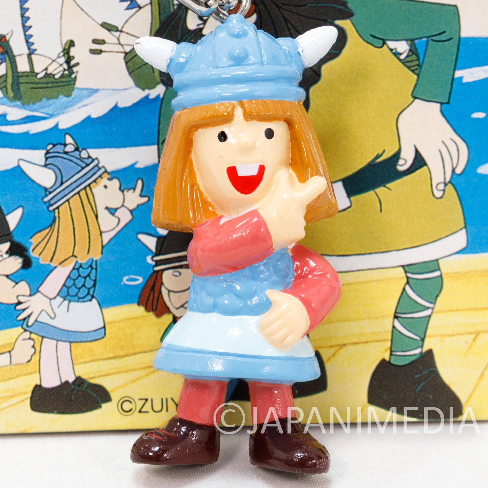 Vicky the Viking Vicke Figure Keychain SEGA JAPAN ANIME