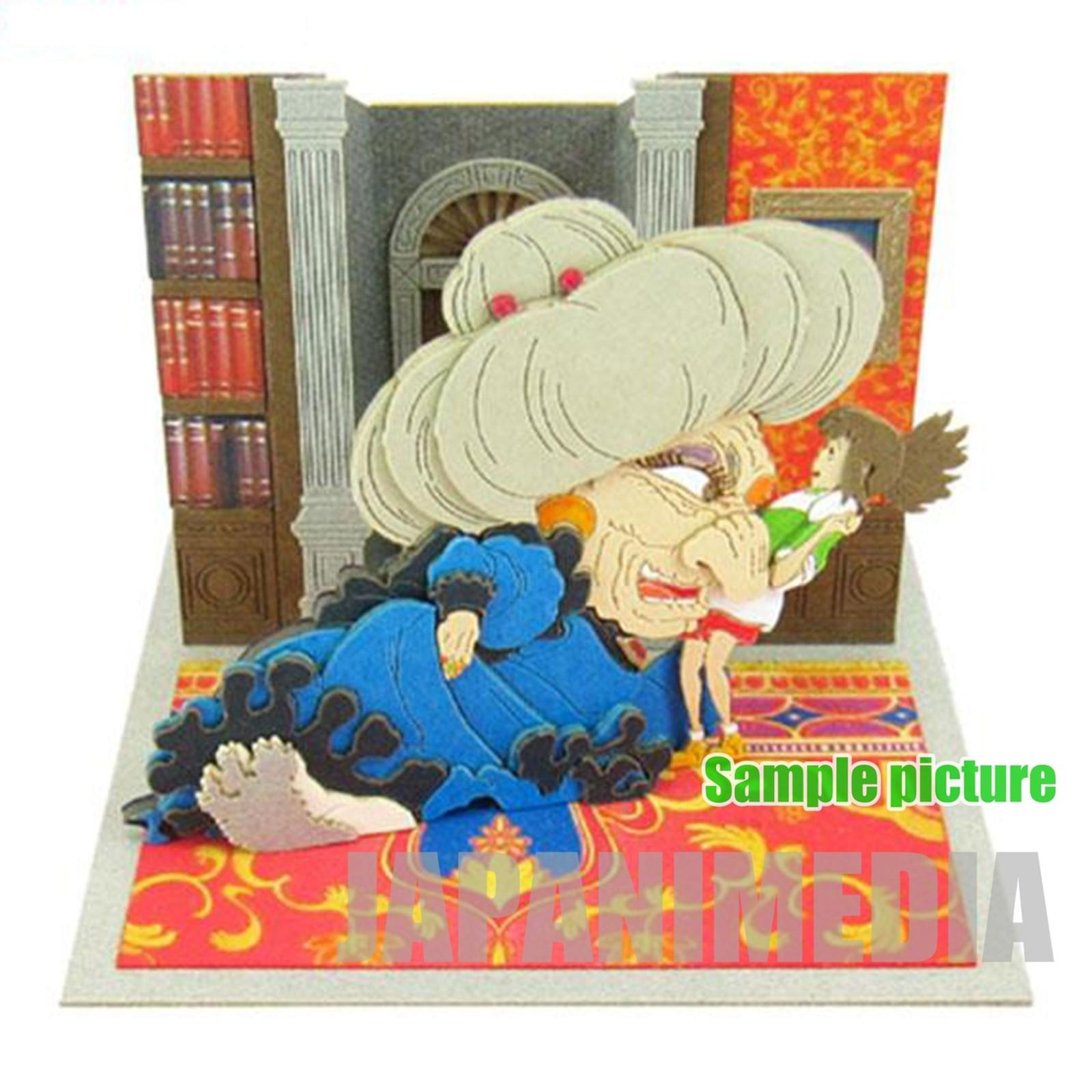 Spirited Away Yubaba & Sen (Chihiro) Miniatuart Mini #13 Paper-Kit Ghibli JAPAN ANIME