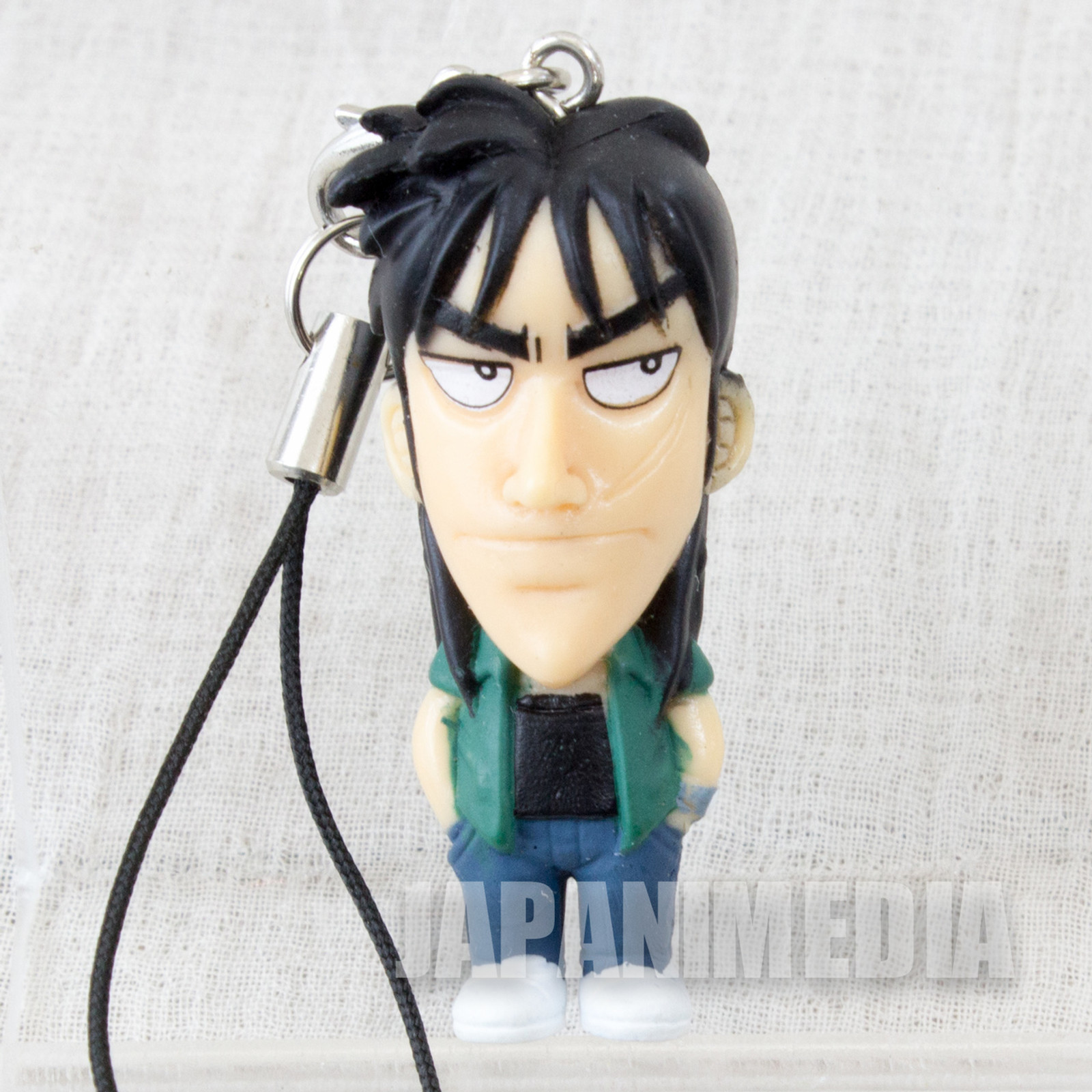 KAIJI Ultimate Survivor Kaiji Ito Figure Strap JAPAN ANIME MANGA