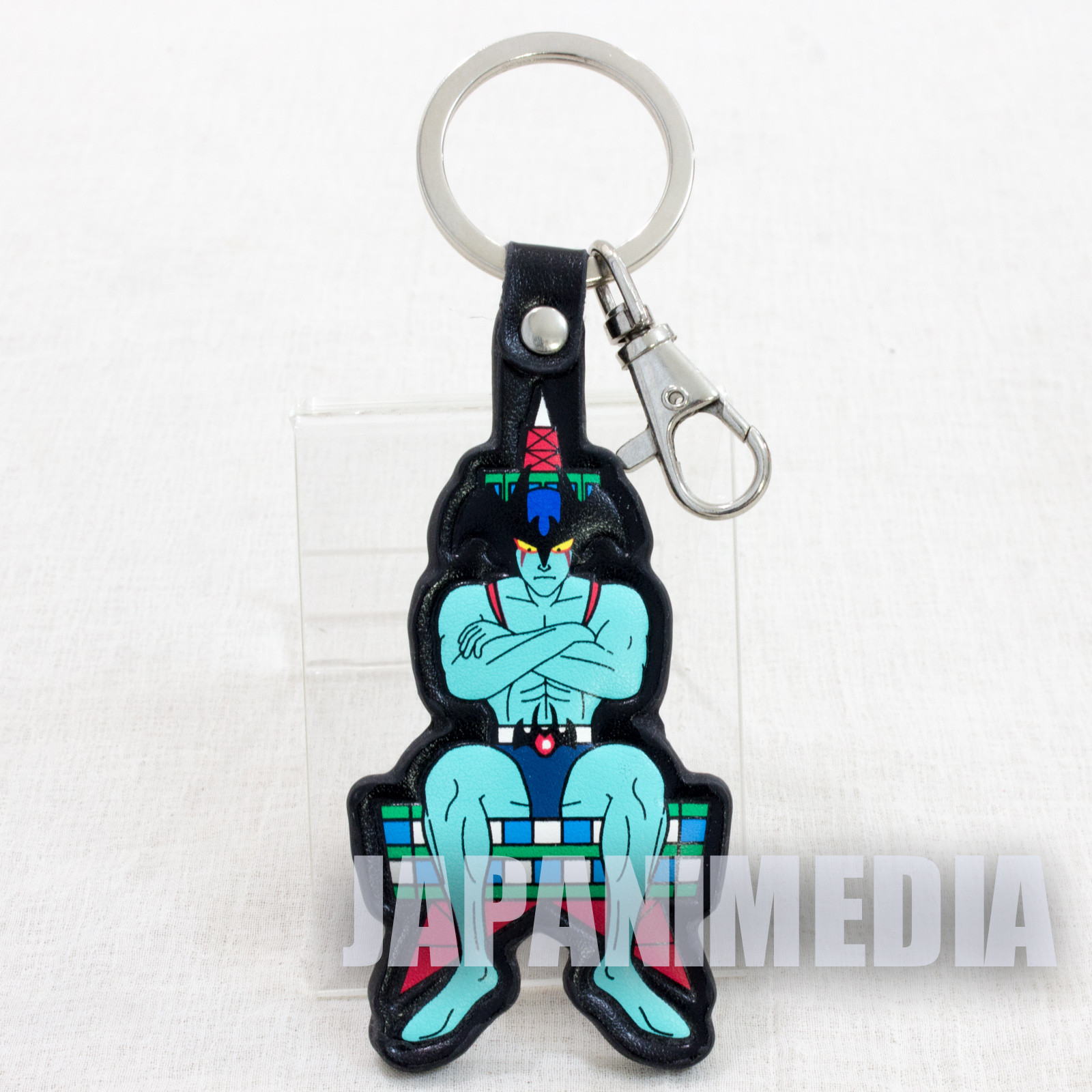 Devilman Anime Ver. Polyurethan Leather Characters Mascot Key Chain JAPAN
