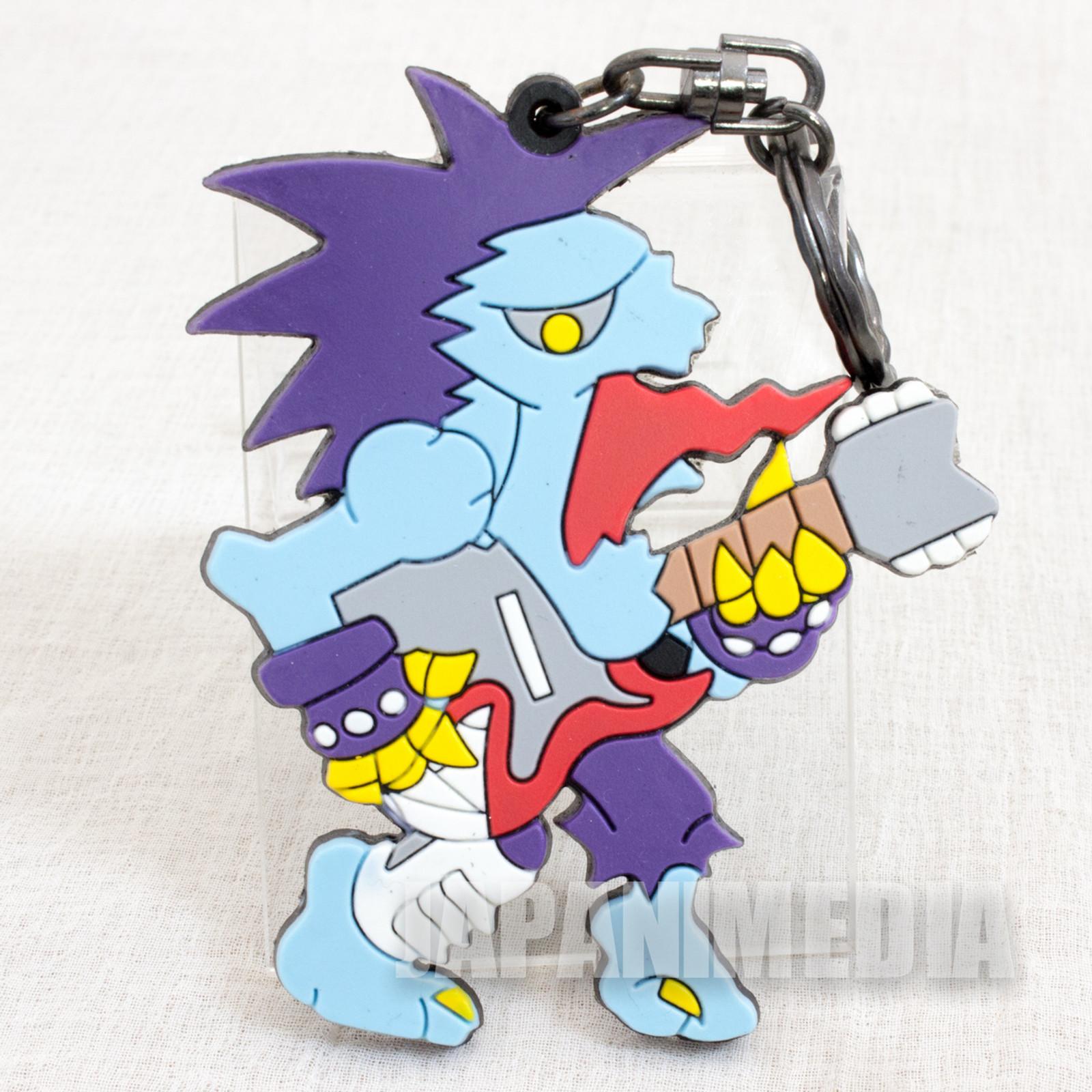 Darkstalkers (Vampire) Lord Raptor Zabel Zarock Rubber Mascot Keychain Capcom