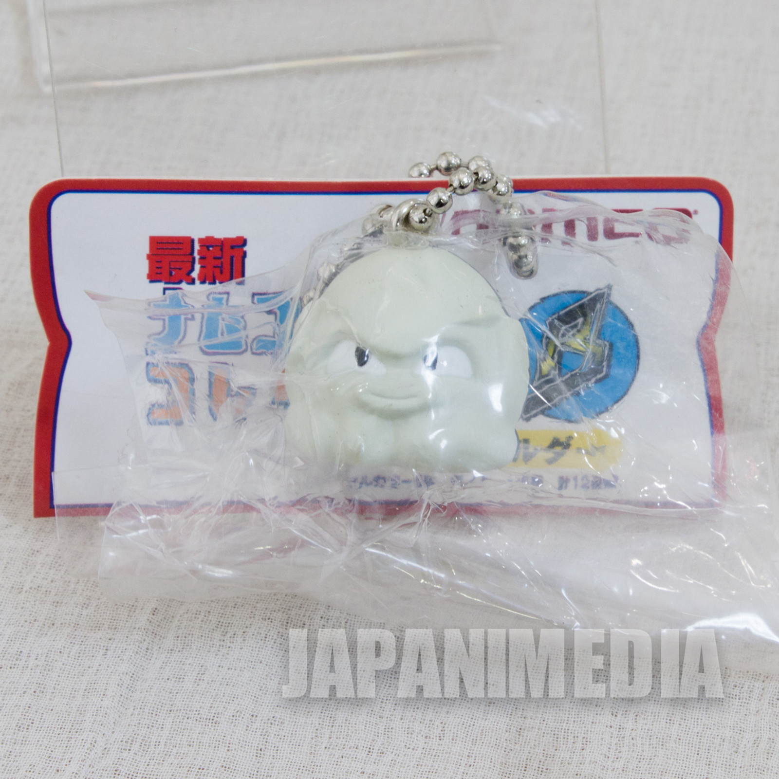 Retro Rare! Tako-Ika Panic Monochrome Figure Ballchain Namco JAPAN