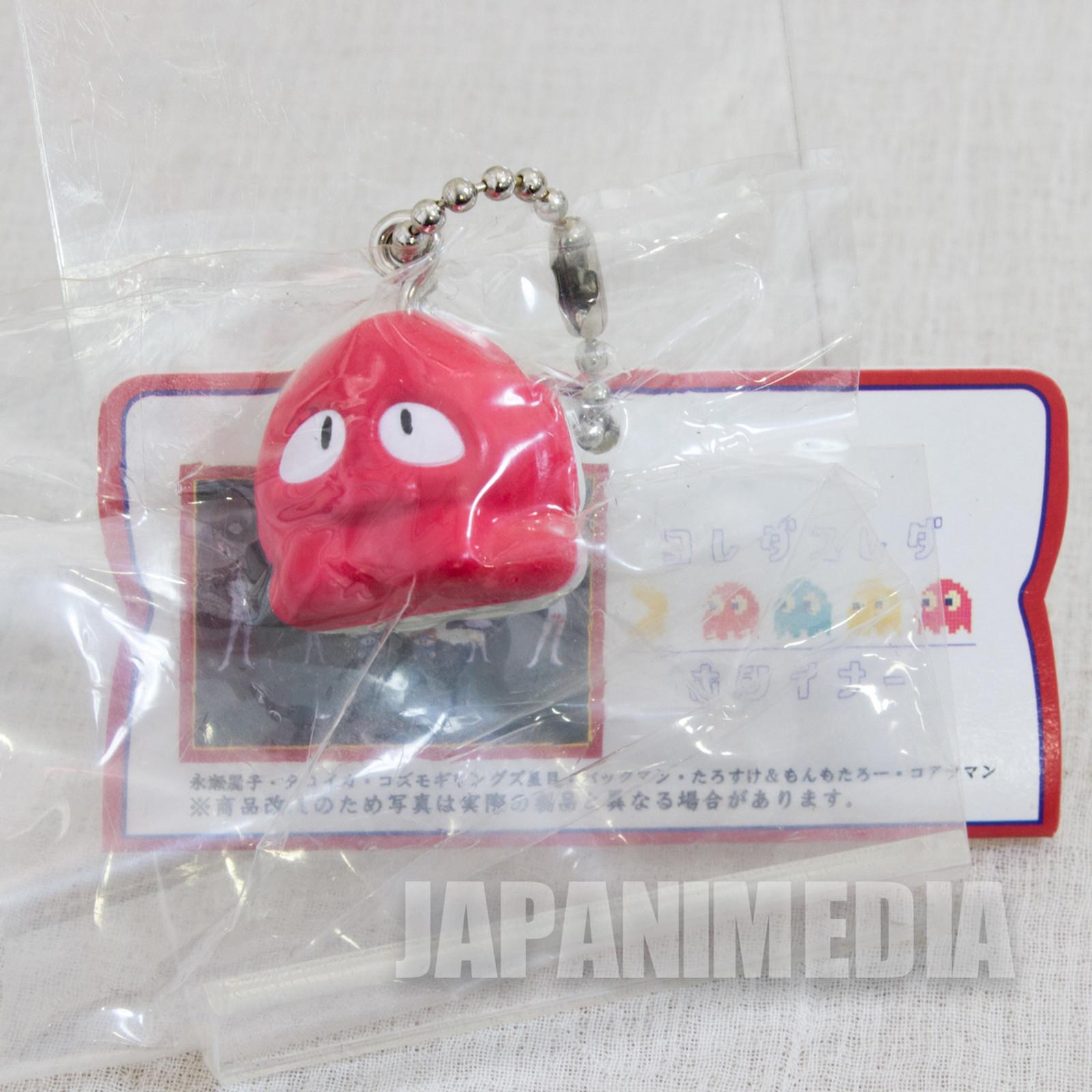 Retro Rare! Tako-Ika Panic Color Figure Ballchain Namco JAPAN