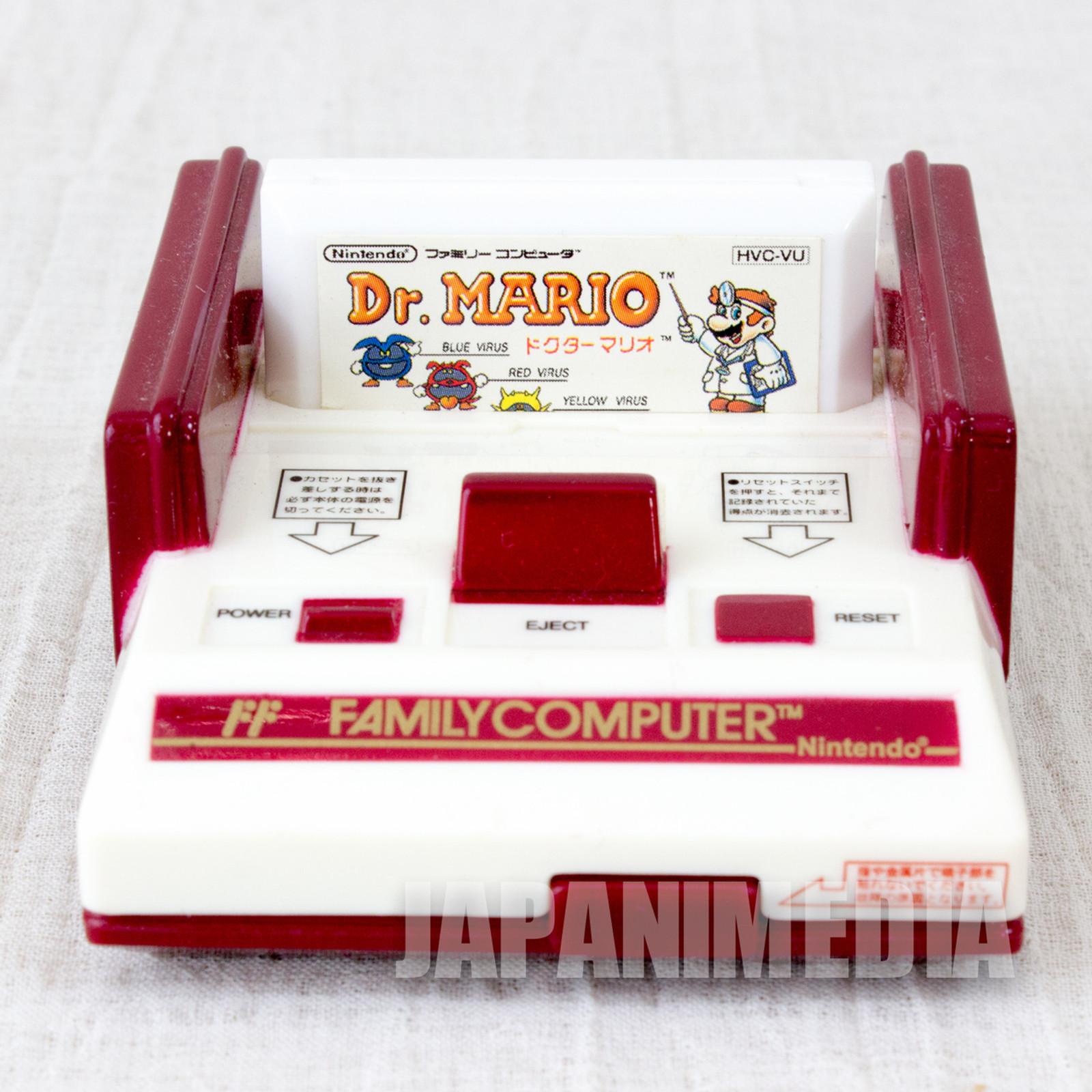 Dr. Mario Nintendo NES Famicom Family Computer Type Memo Paper Case JAPAN 2
