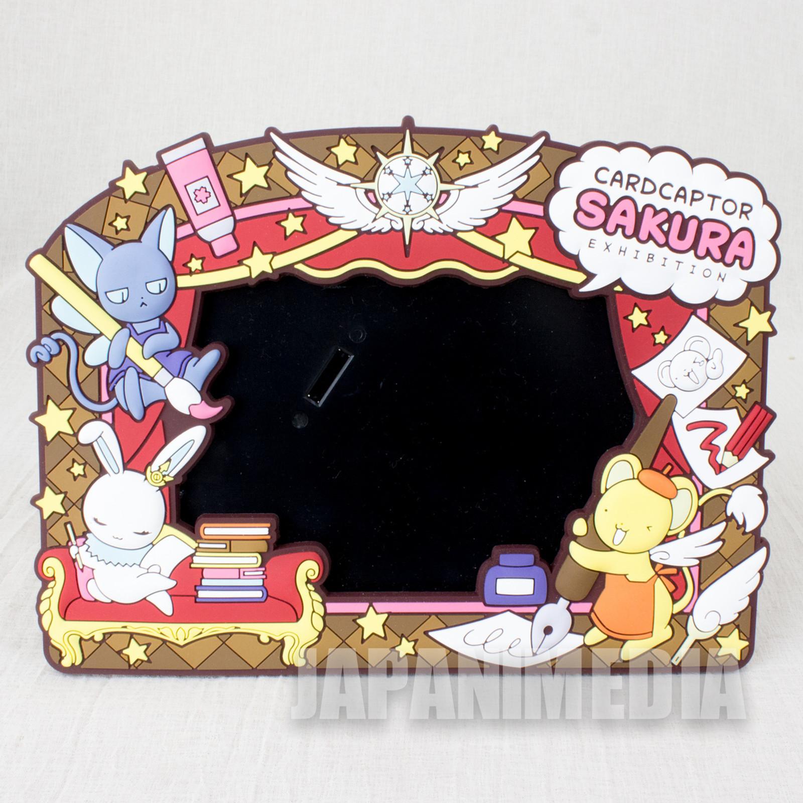 Cardcaptor Sakura Exhibition Rubber Picture Frames Photo JAPAN ANIME MANGA