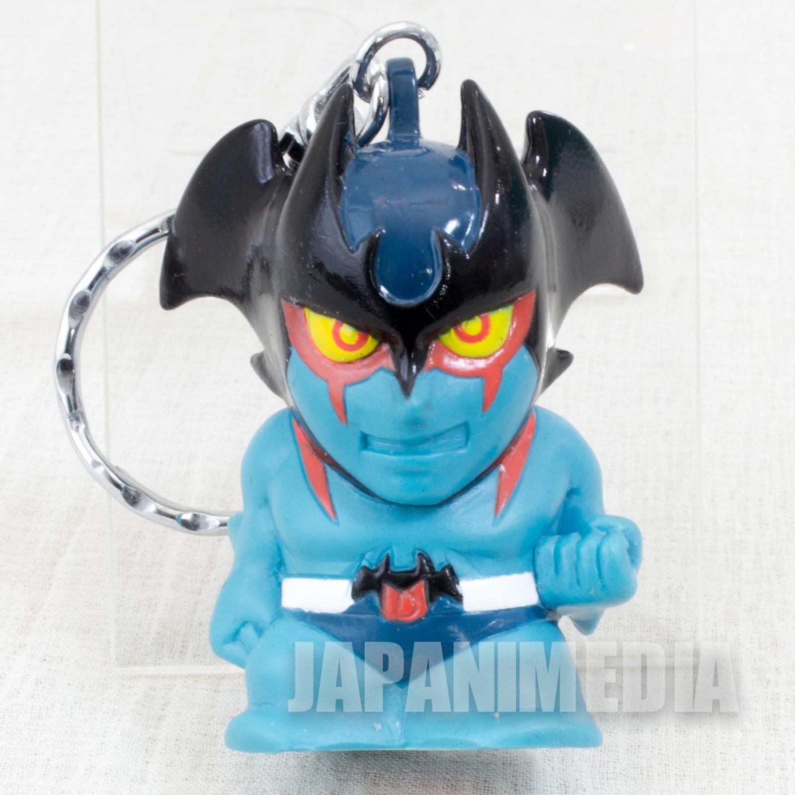 Devilman Anime Ver. Soft Vinyl Figure Keychain JAPAN