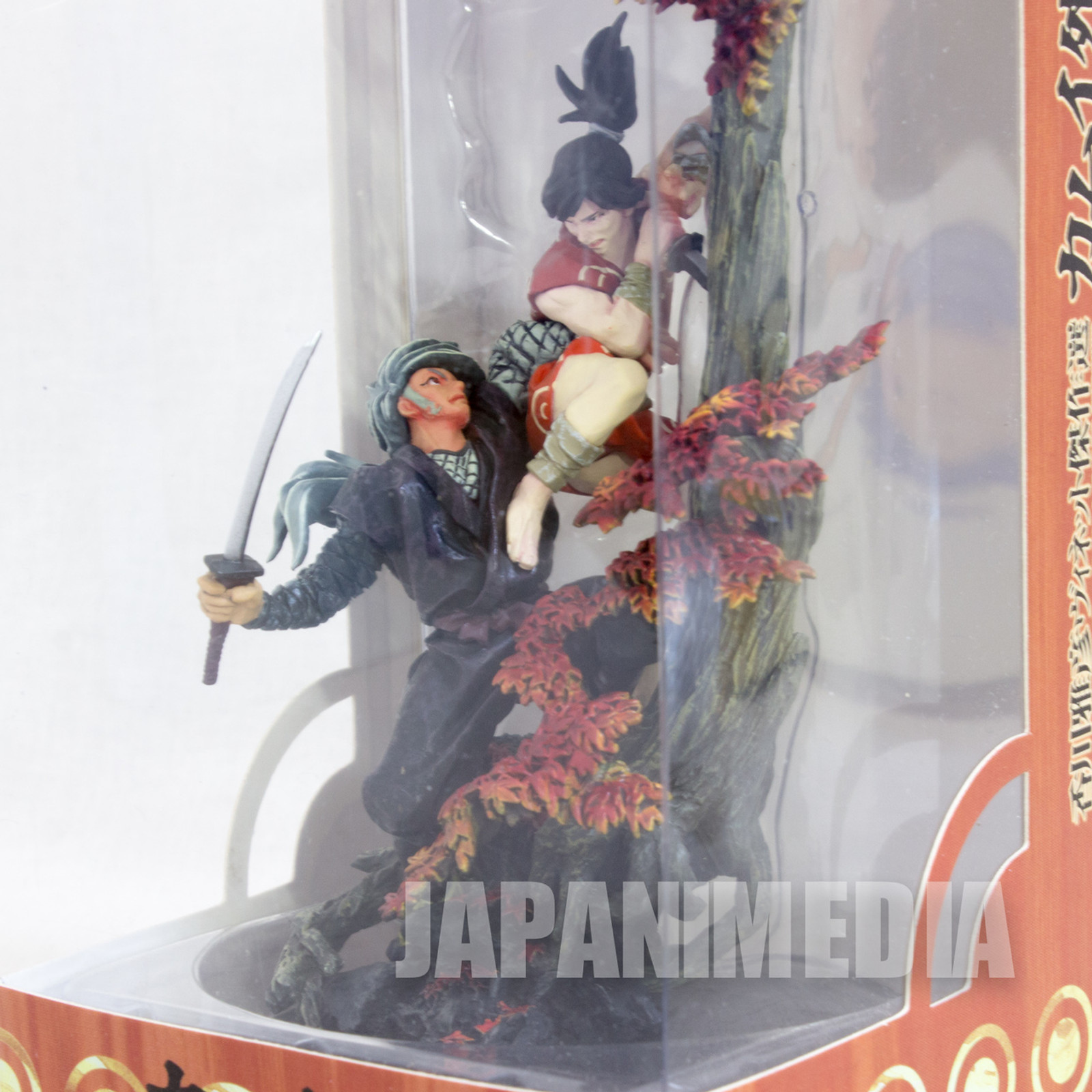 Kamui The Ninja Gaiden Diorama Full Color Vignette Figure Battle with Akame