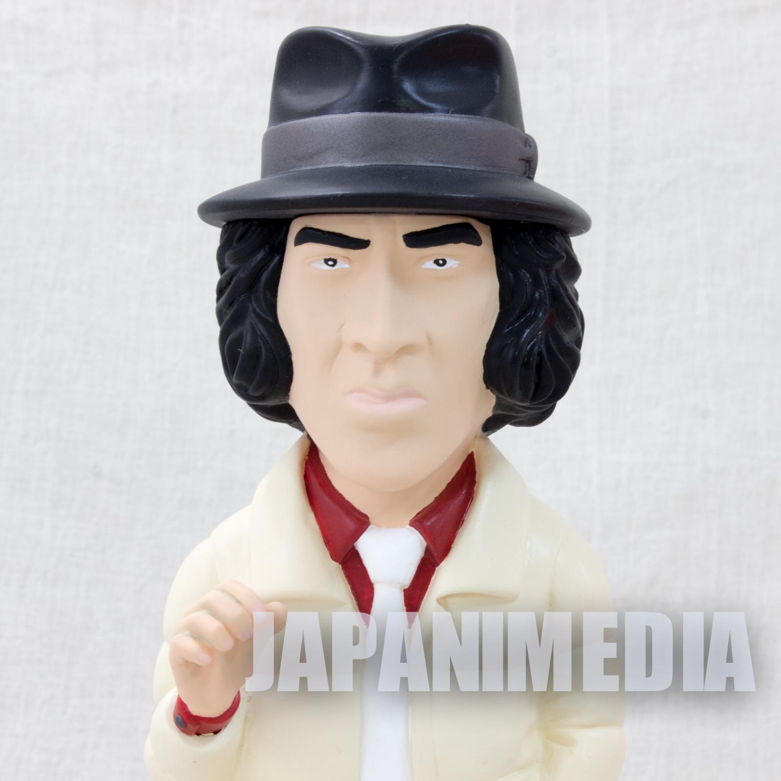 Yusaku Matsuda Shunsaku Kudo Detective Story Soft Vinyl Figure Painted