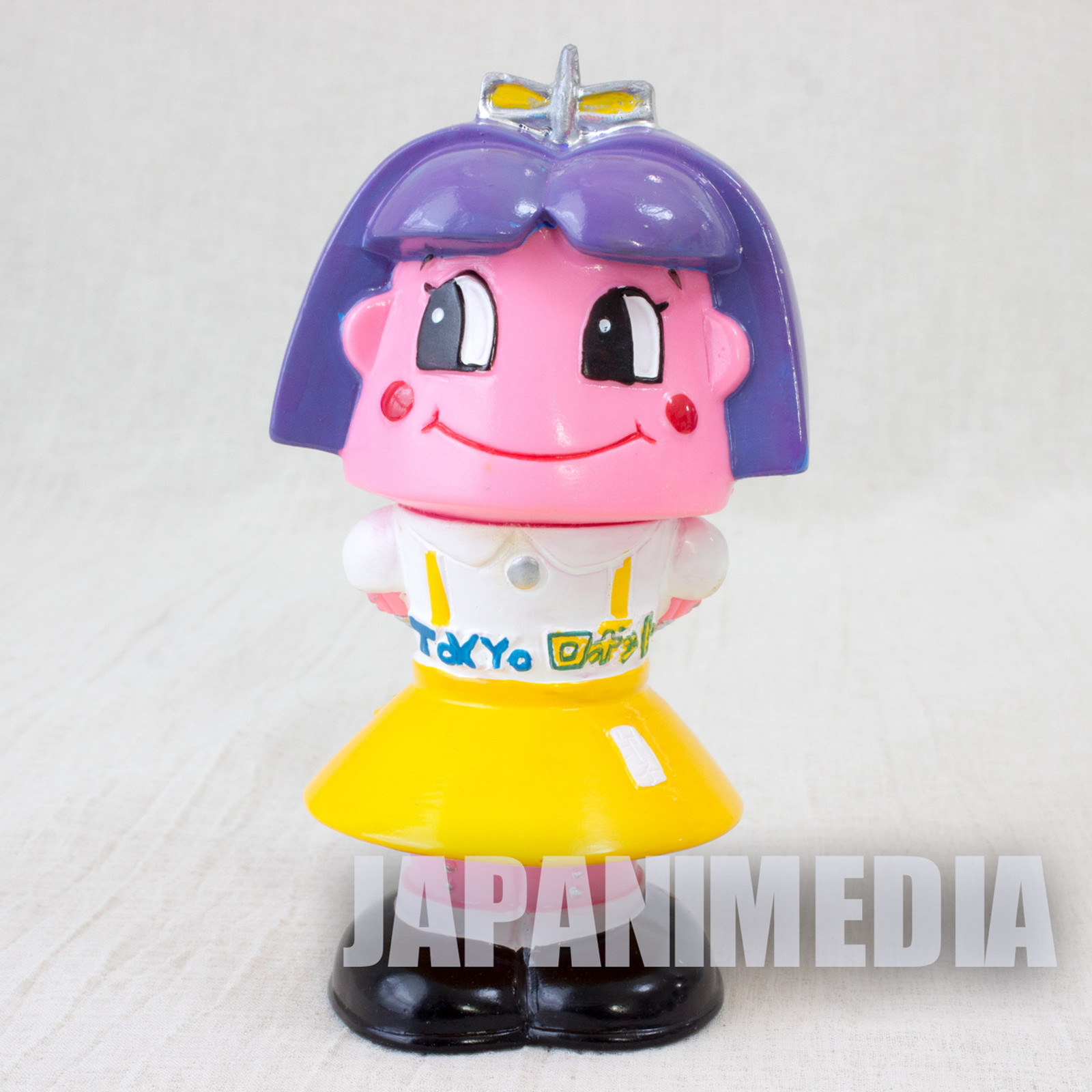 Retro RARE Girl Tokyo Robot 2nd Anniverary Soft Vinyl Figure 1996