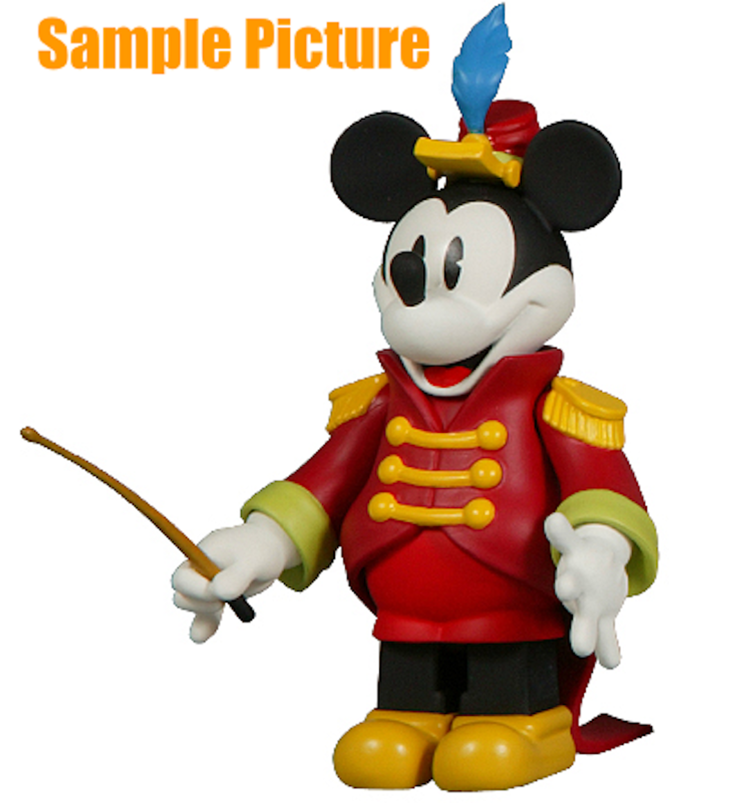 Disney Mickey Mouse Concert Figure Kubrick Series 6 Medicom Toy JAPAN