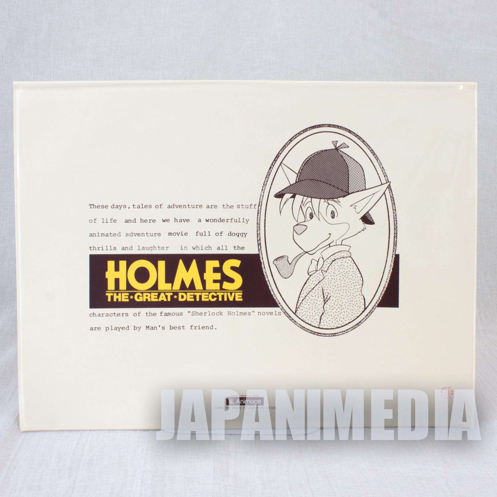 The Detective Holmes Sherlock Vinyl Bag Animage