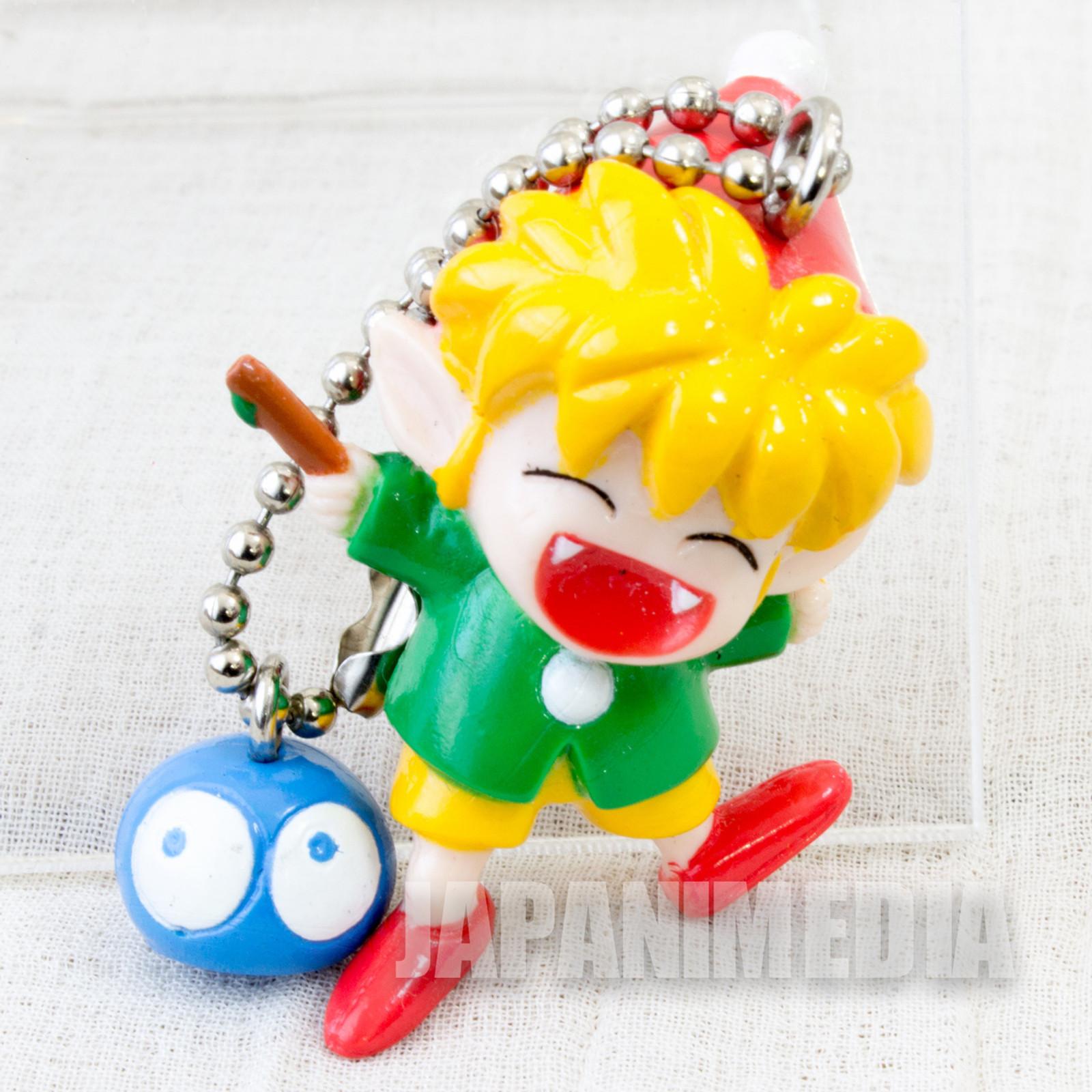 Retro RARE Puyo Puyo Figure Keychain JAPAN FAME SEGA 2