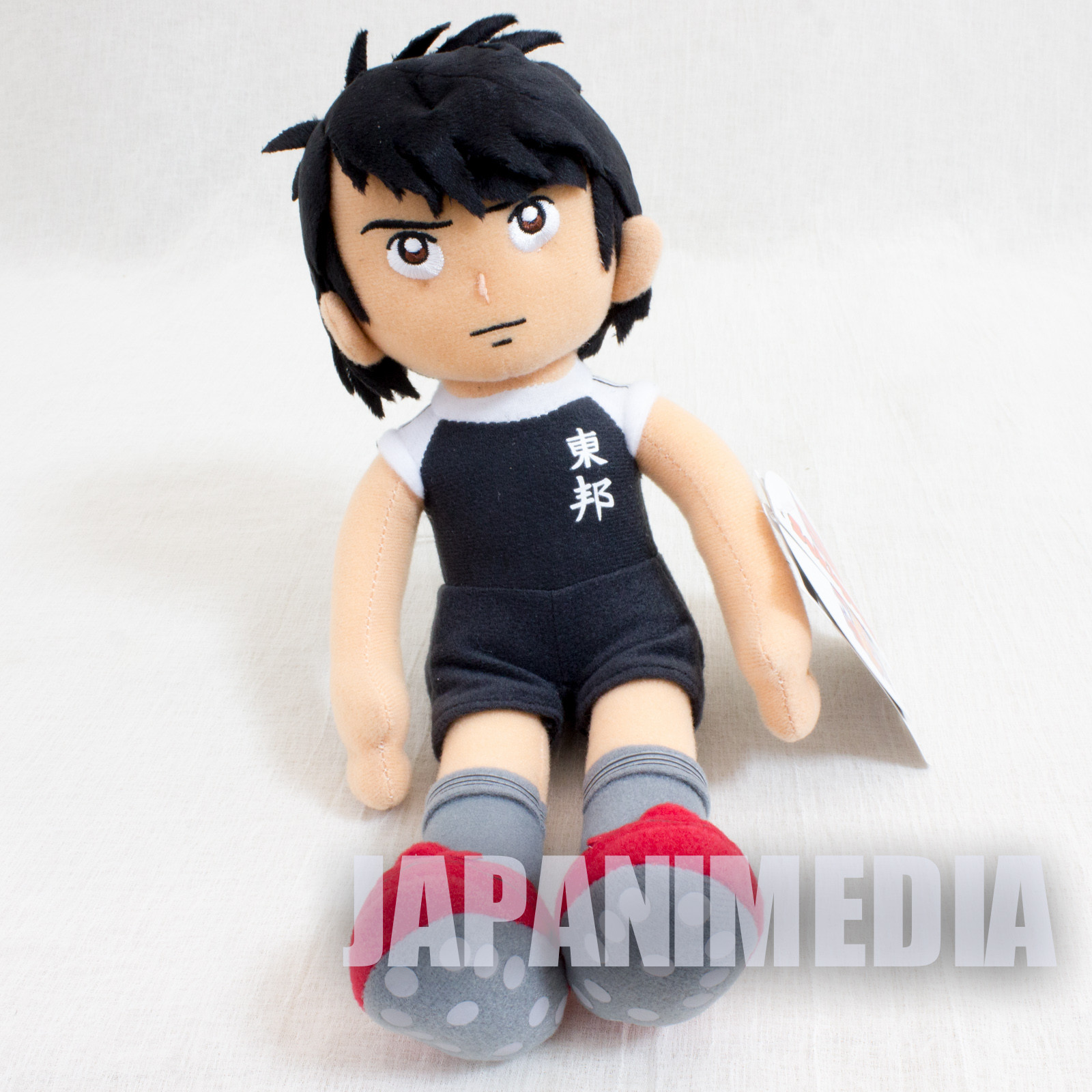 Captain Tsubasa Plush Doll Kojiro Hyuga Sekiguchi JAPAN ANIME MANGA