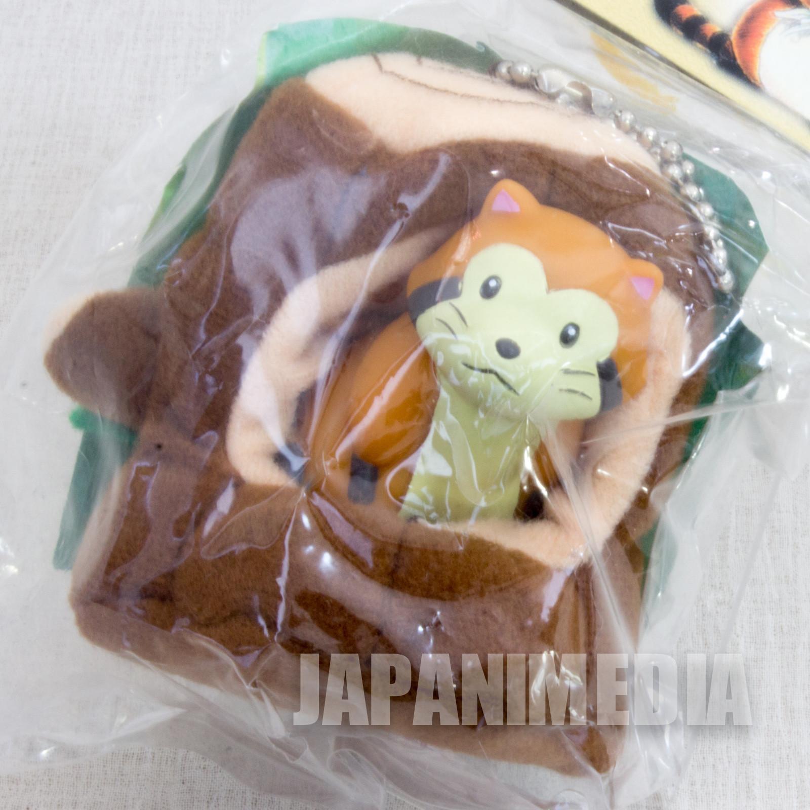 Rascal the Raccoon Figure Mascot Ballchain JAPAN ANIME