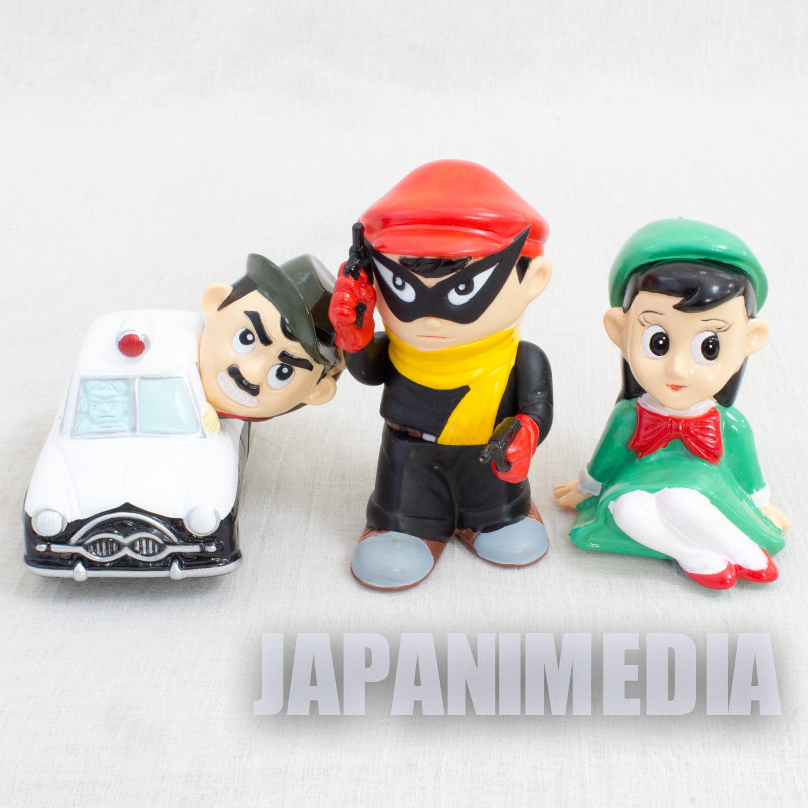 Maboroshi Tantei Soft Vinyl Figure 3pc Set JAPAN MANGA ANIME