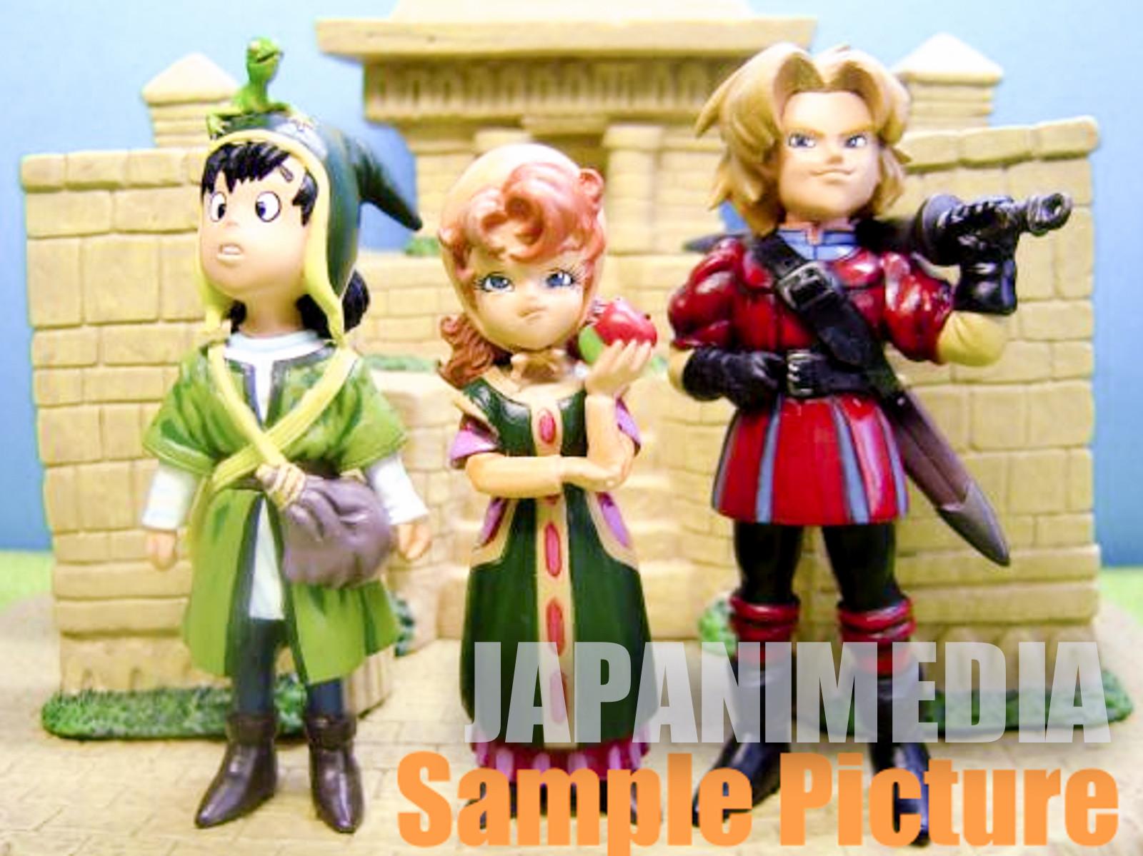 Dragon Quest 7 Package Diorama Figure JAPAN ANIME ENIX WARRIOR