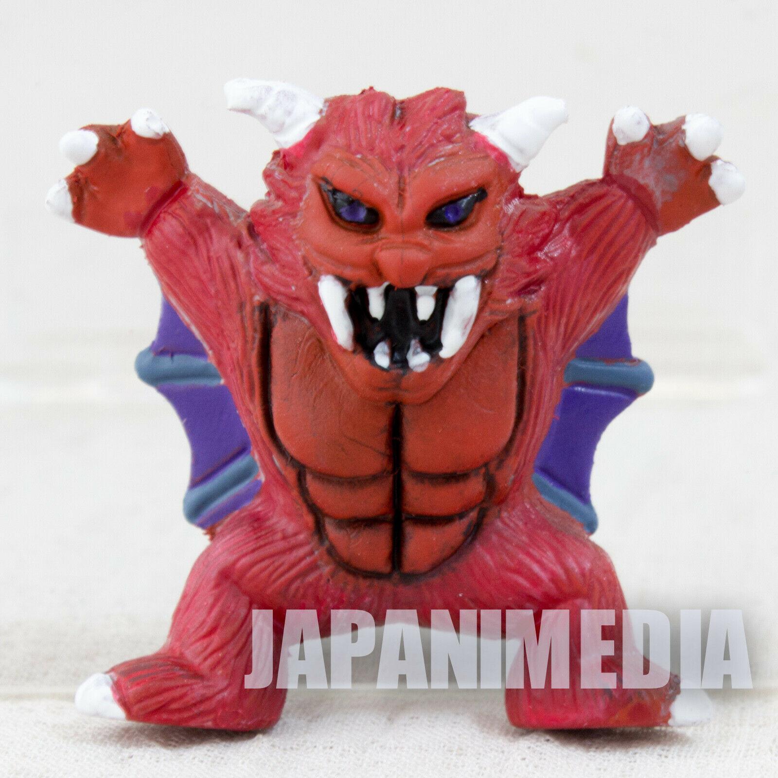 "Ghosts'n Goblin Satan 1"" Rubber Figure Painted Capcom Makaimura JAPAN FAMICOM 1"