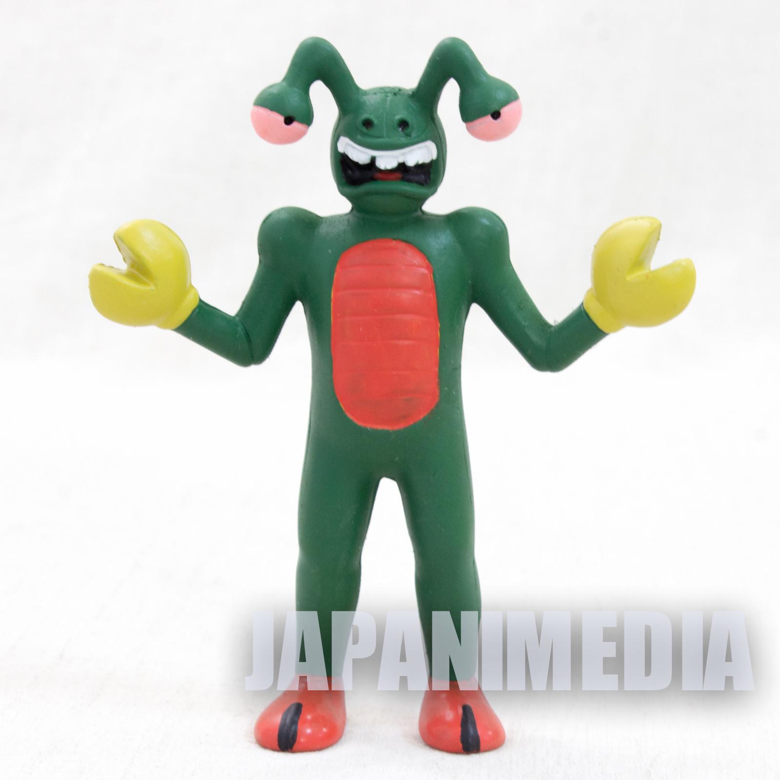"Kinnikuman Kani Base 3.5"" Rubber Figure Painted ULTIMATE MUSCLE"