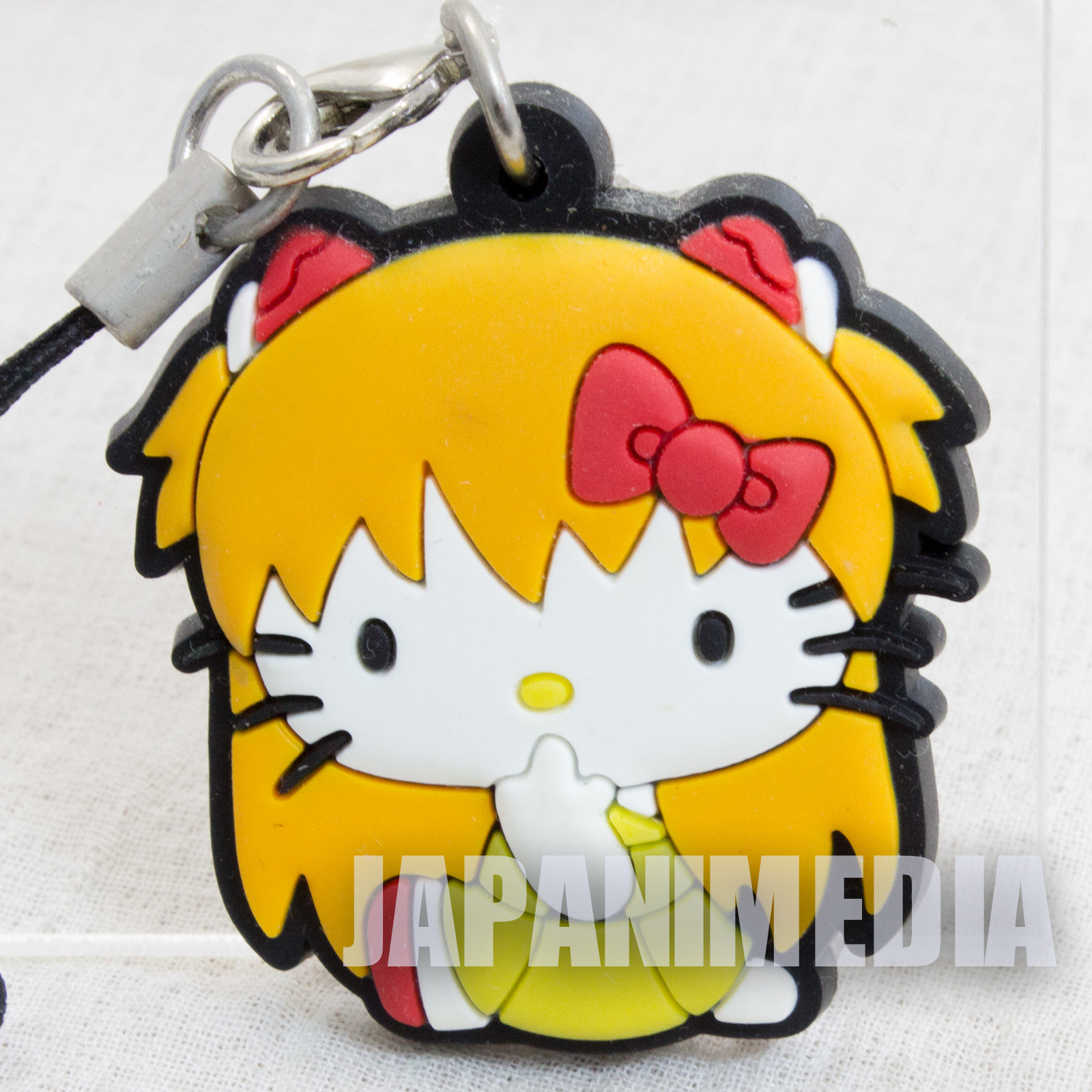 Evangelion x Hello Kitty Asuka Langley [C] Rubber Strap Dress ver. Sanrio JAPAN ANIME