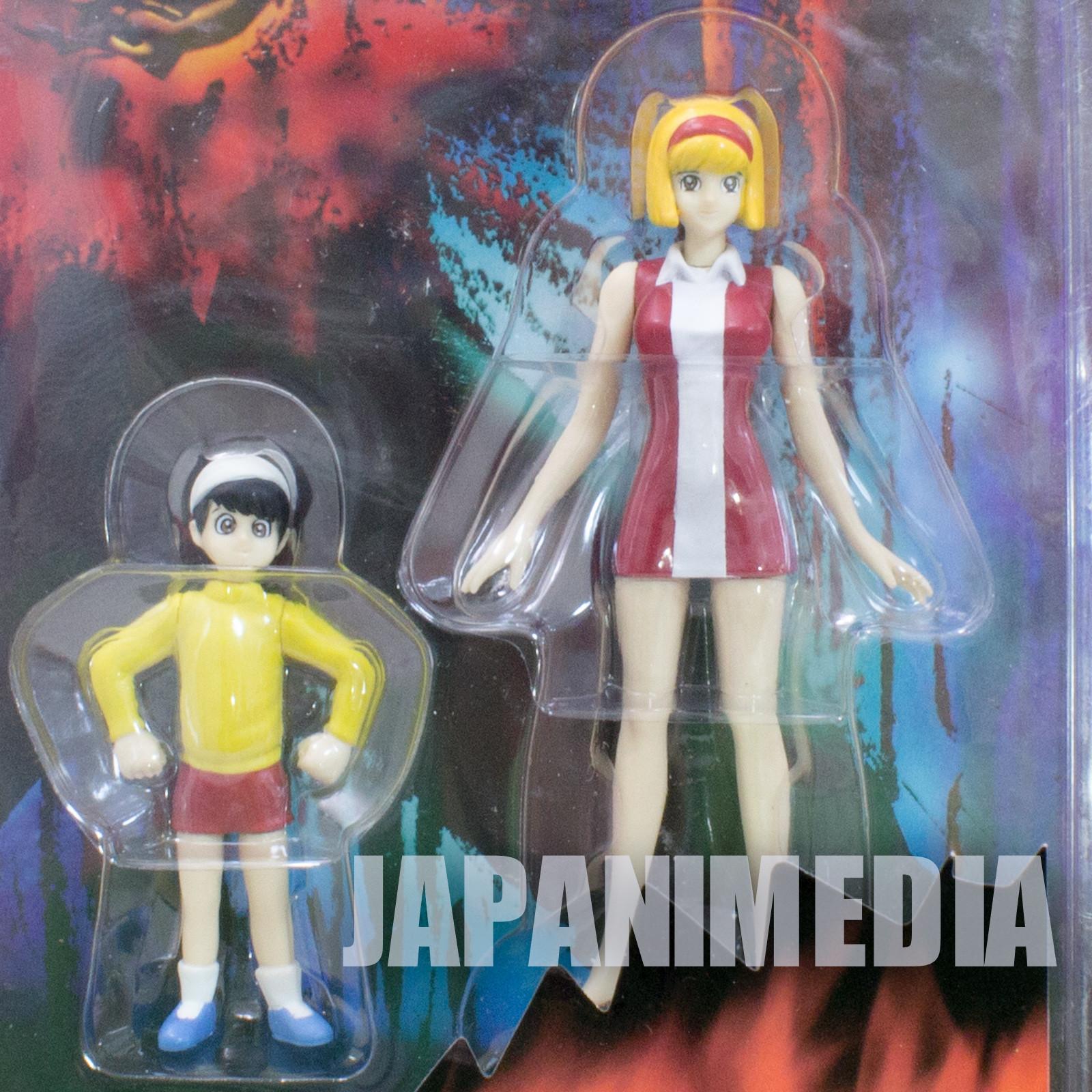 Devilman Miki & Taro Makimura Dynamic Action Figure Marmit Nagai Go JAPAN ANIME