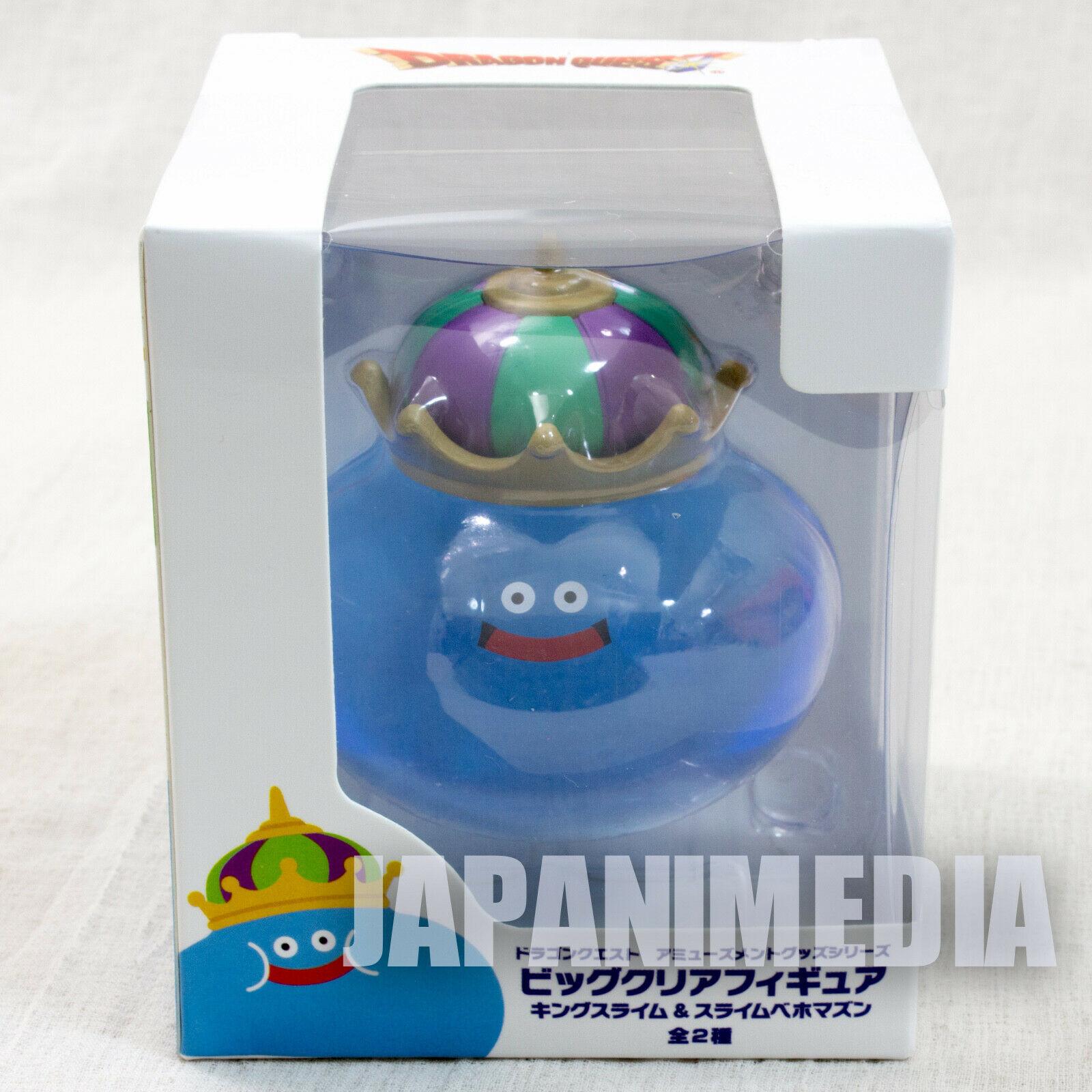 Dragon Quest King Slime Clear Figure Square Enix JAPAN WARRIOR