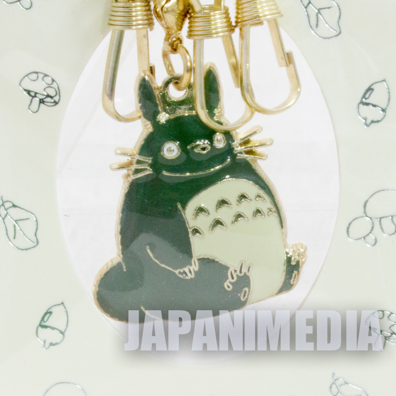 My Neighbor Totoro Mascot Charm Key Ring #1 Ghibli Hayao Miyazaki JAPAN