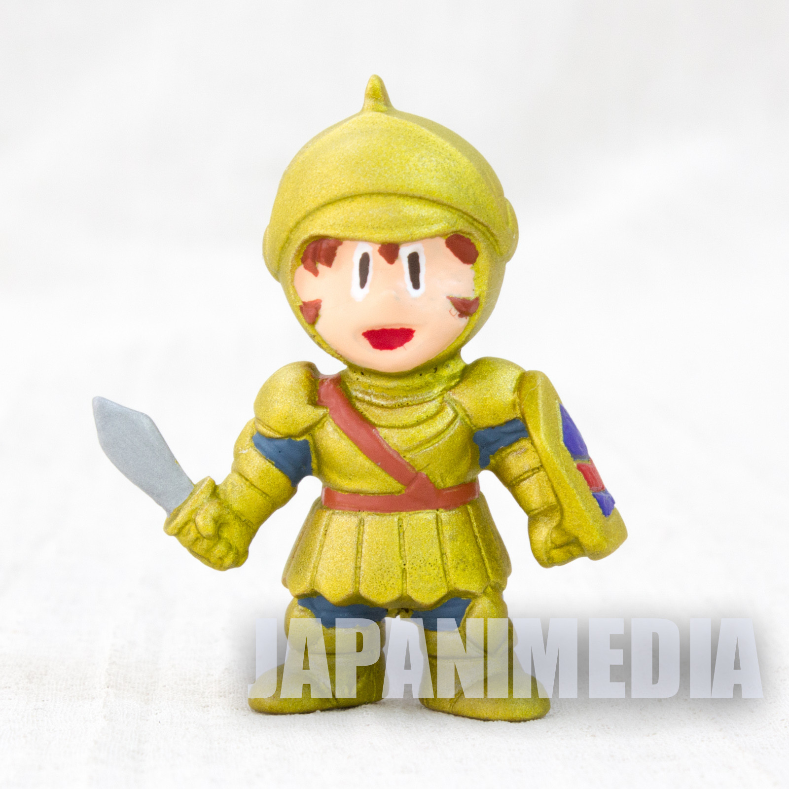 Tower of Druaga Gilgamesh Gil Rubber Figure Painted JAPAN FAMICOM
