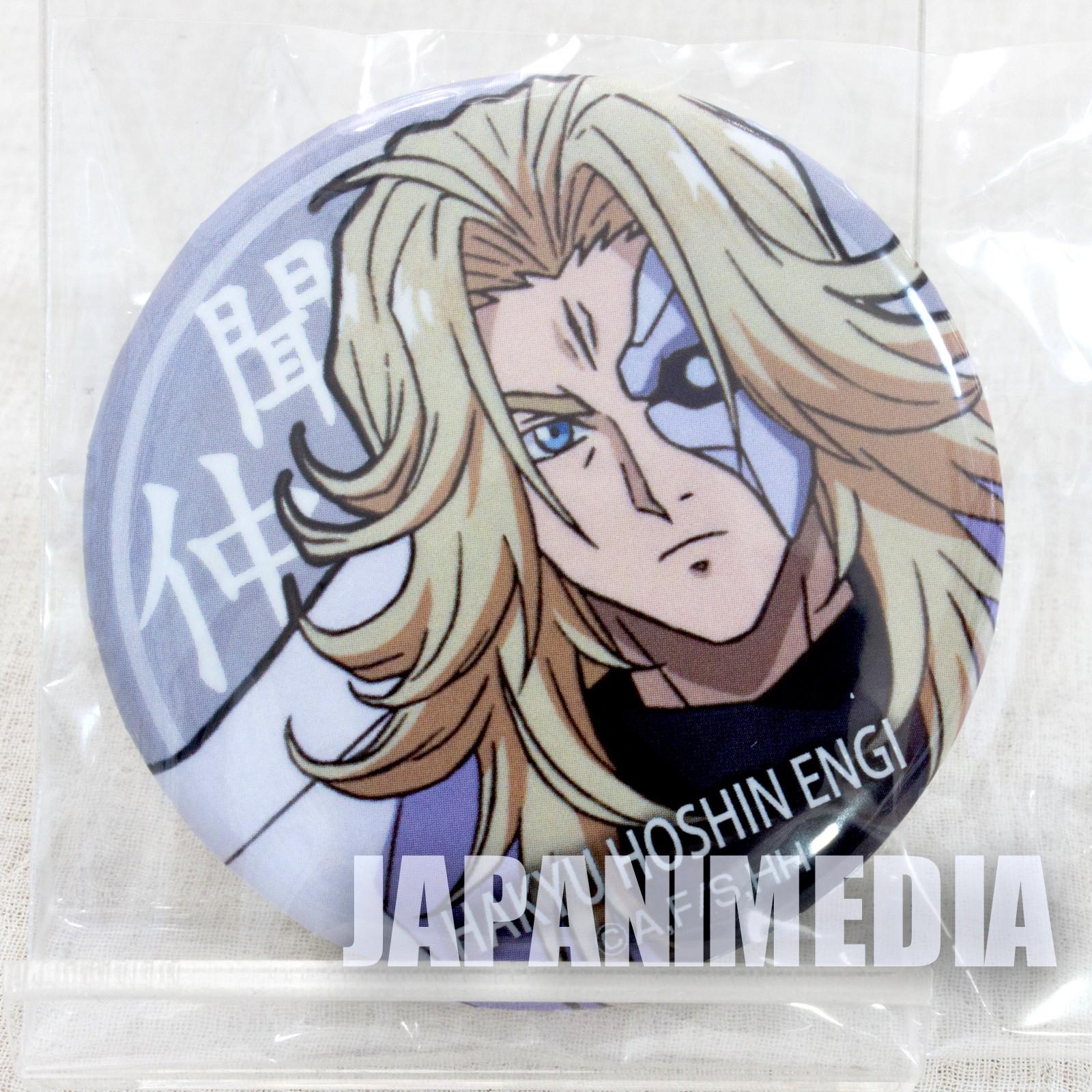 Hakyu Hoshin Engi Bunchu Button badge JAPAN ANIME