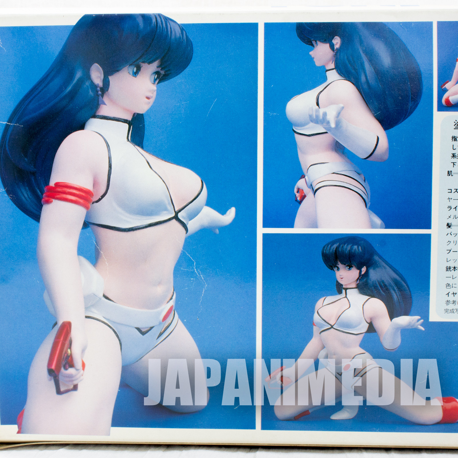 Retro RARE! Dirty Pair YURI 1/4 Soft Vinyl Model Kit FUKUYA JAPAN ANIME FIGURE