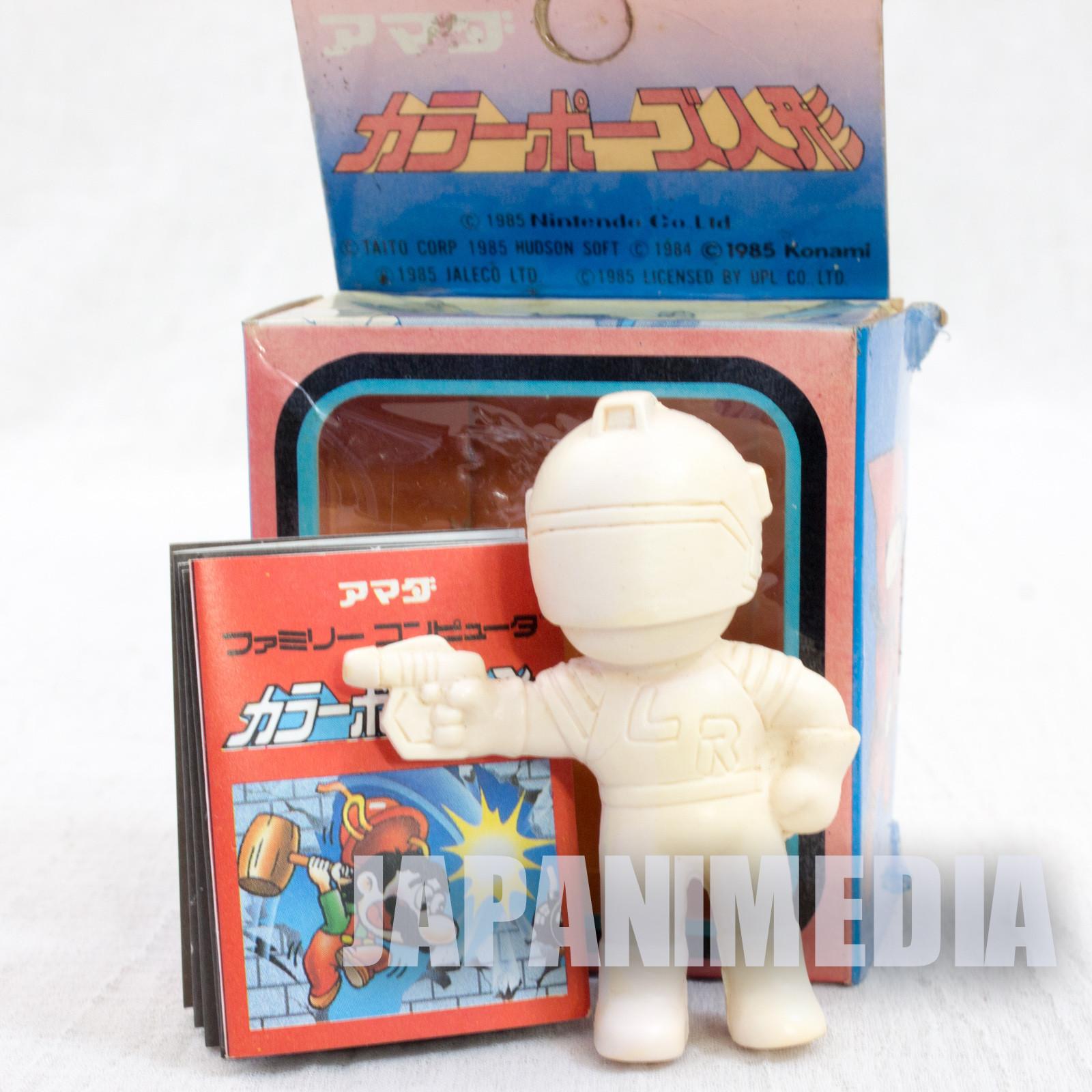 Retro RARE! Lode Runner Rubber Figure Doll JAPAN NES FAMICOM
