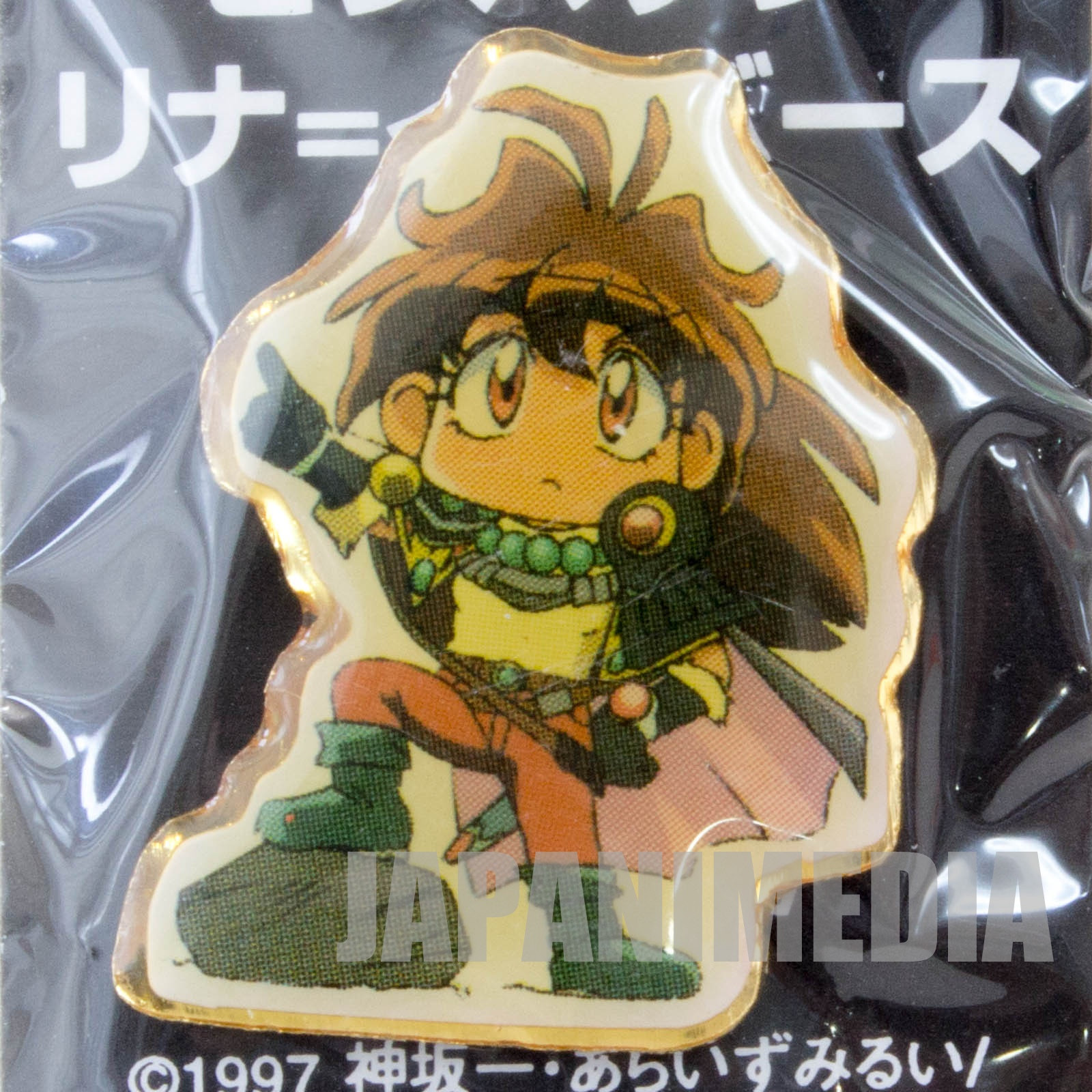 Slayers Great Lina Inverse Pins MOVIE JAPAN ANIME MANGA