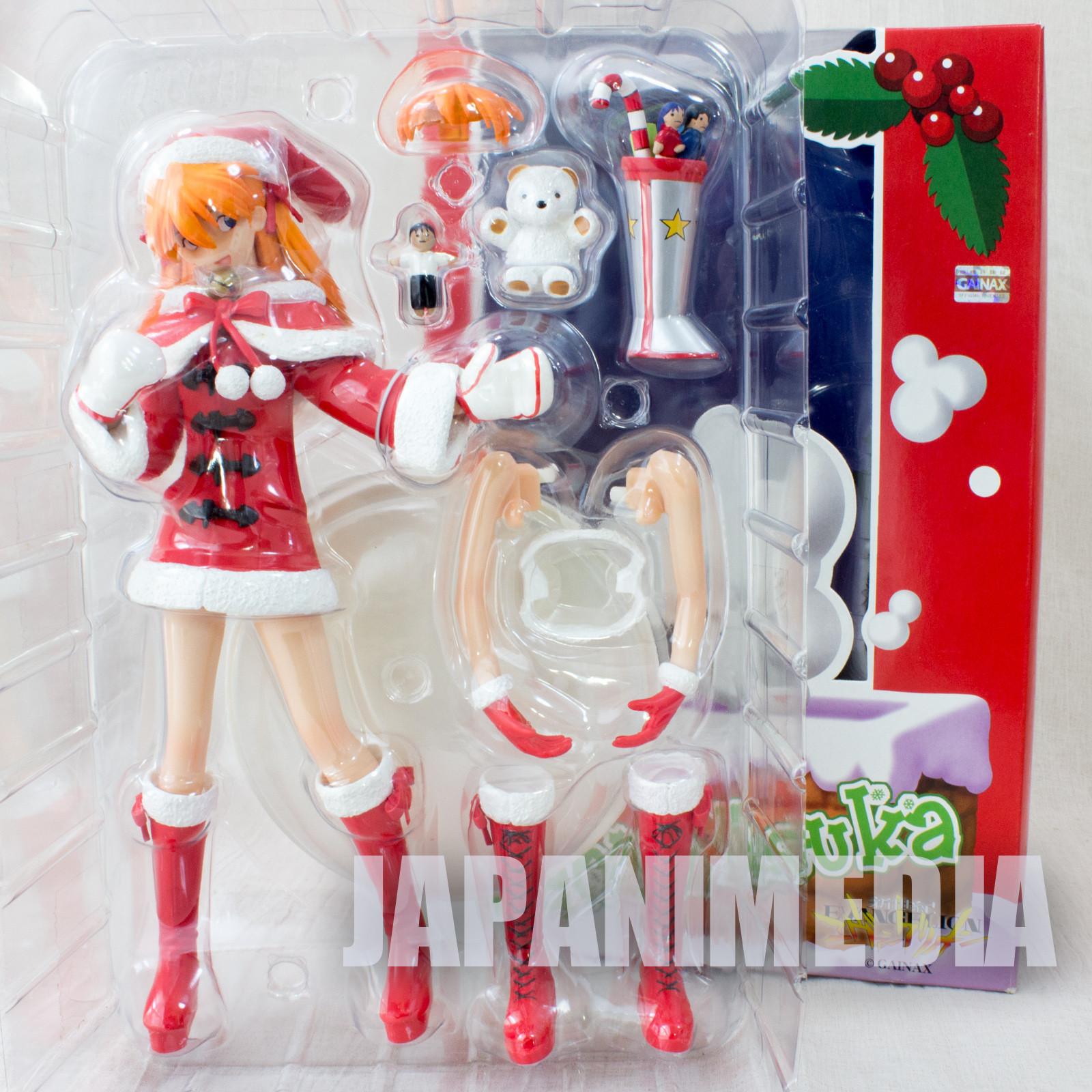 Evangelion Asuka Langley Santa Cosplay Figure Red Ver. JAPAN ANIME