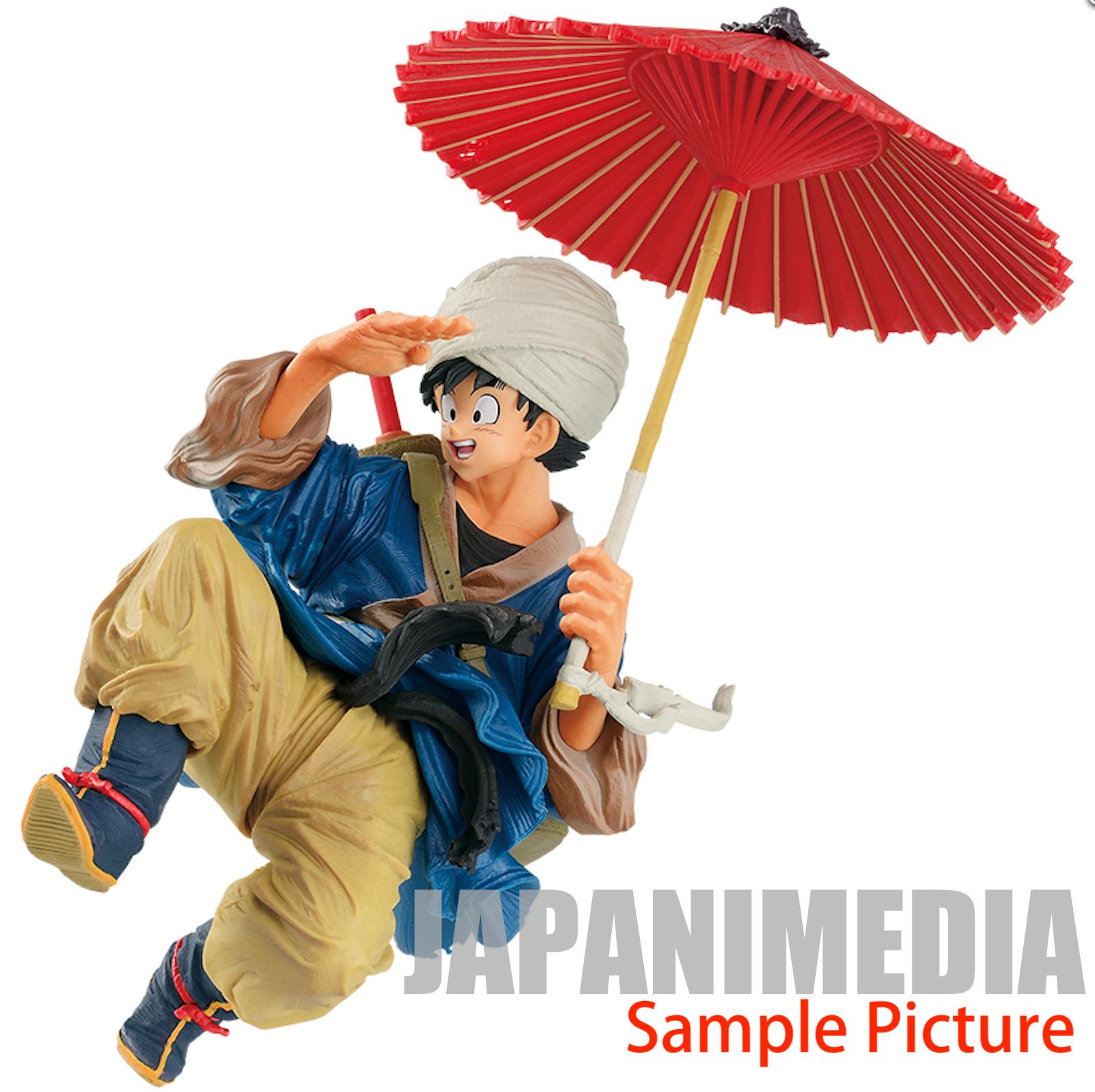Dragon Ball Z Son Gokou Turban Japanese Umbrella Style Figure JAPAN ANIME