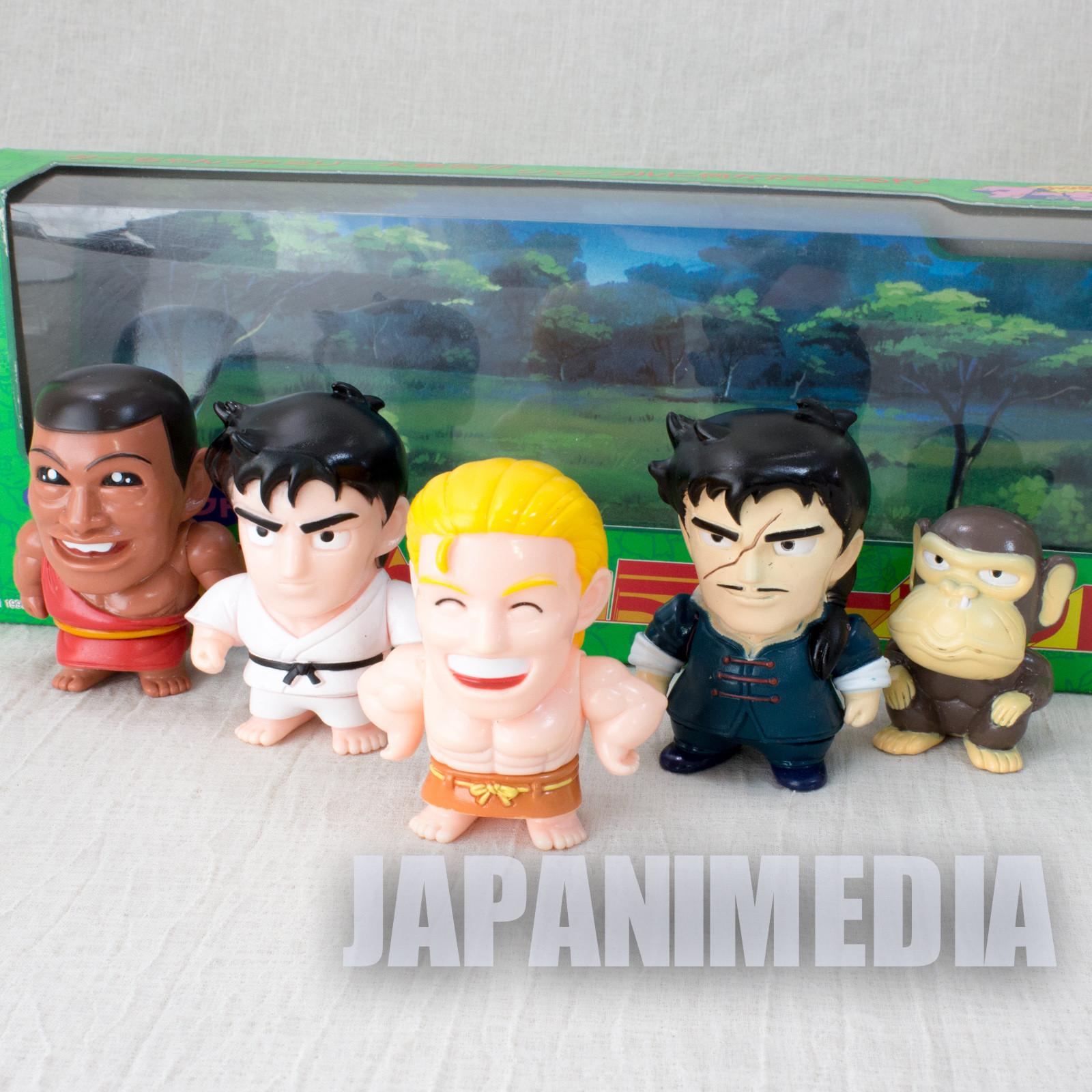 Jungle King Tar-chan Soft Vinyl Figure 5pc Set BANDAI JAPAN ANIME