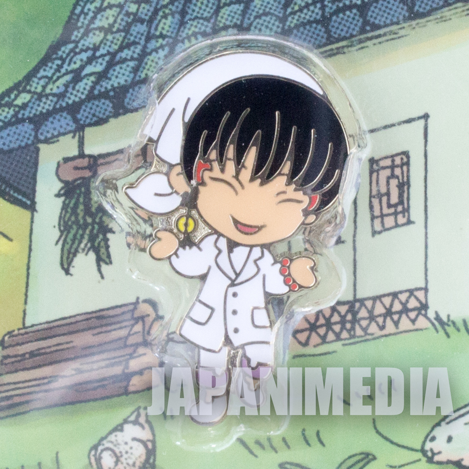 Hozuki no Reitetsu Hakutaku Story Snap Pins Banpresto JAPAN