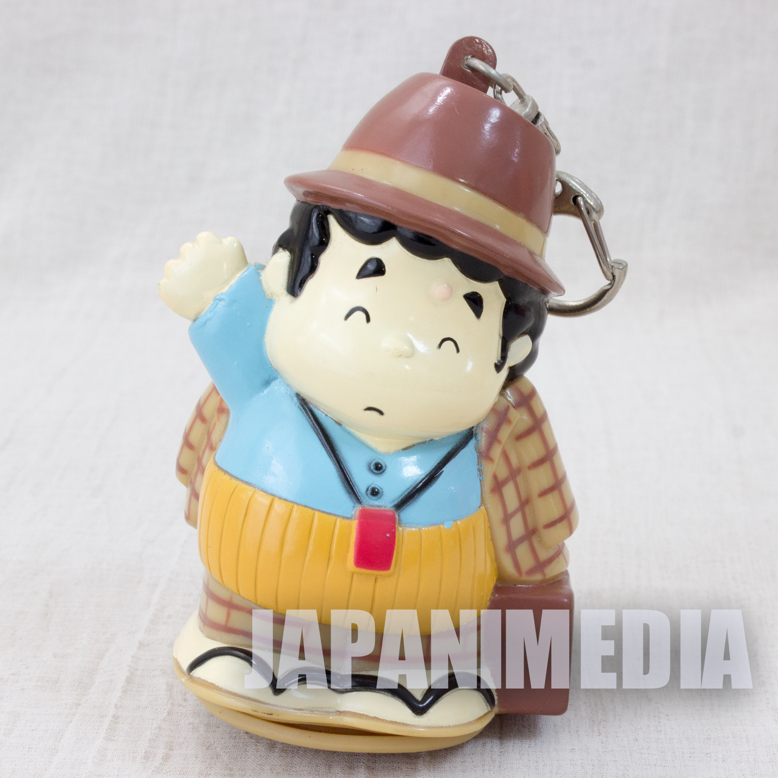 It's tough being a man Otoko Wa Tsurai Yo TORA-san Soft Vinyl Figure Key Chain