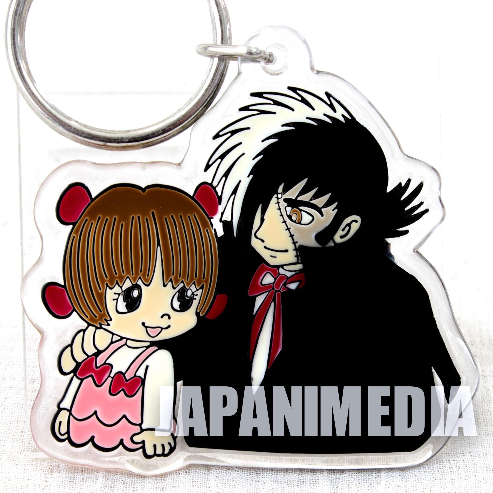 Black Jack Pinoko Acrylic Mascot Key Chain Osamu Tezuka JAPAN ANIME