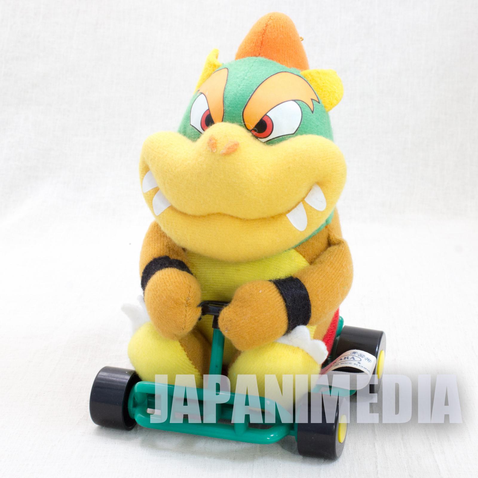 Retro Super Mario Kart Kuppa Bowser Plush Doll TAKARA JAPAN GAME Nintendo Famicom SNES