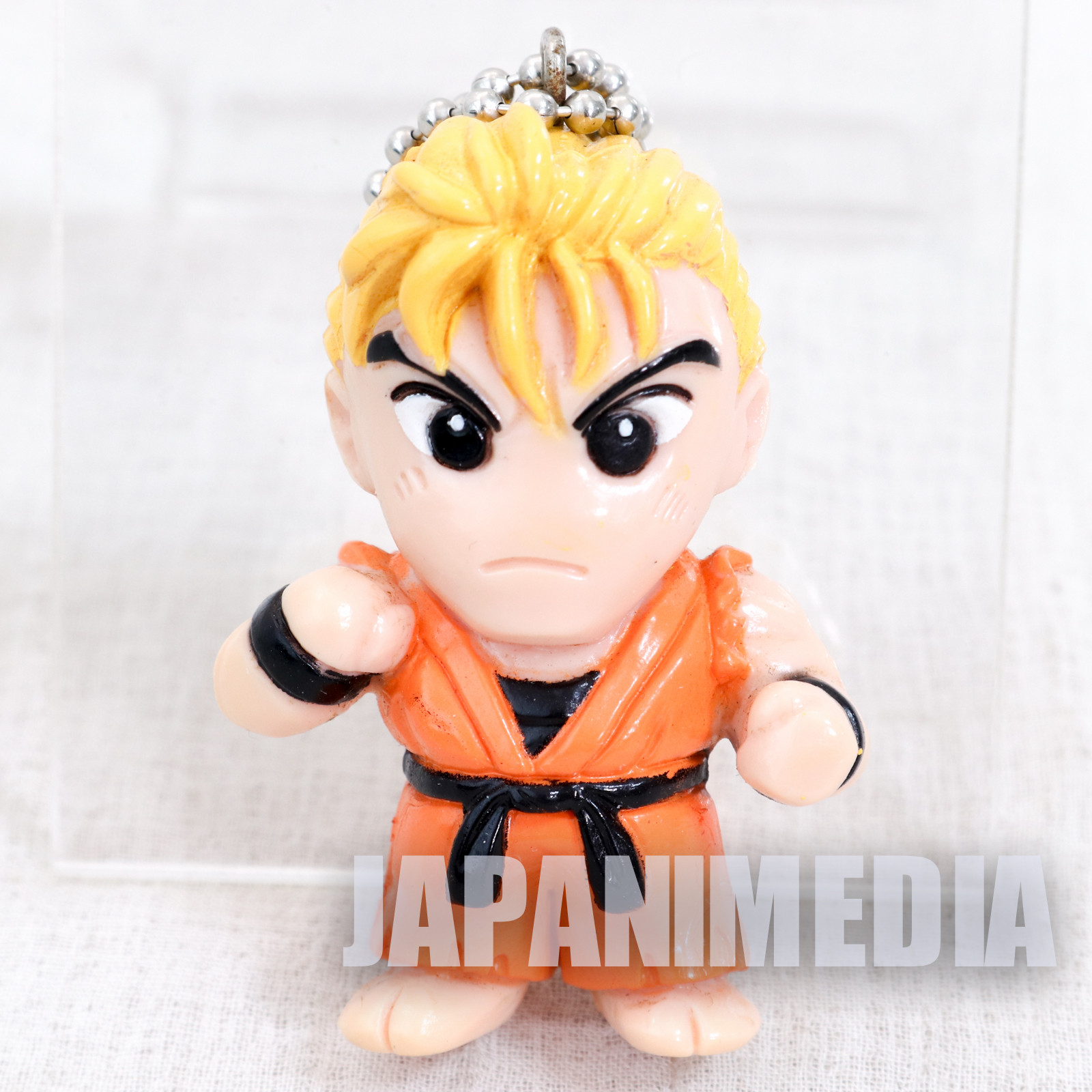 RARE! Art of Fighting / King of Fighters Ryo Sakazaki Figure Ballchain SNK