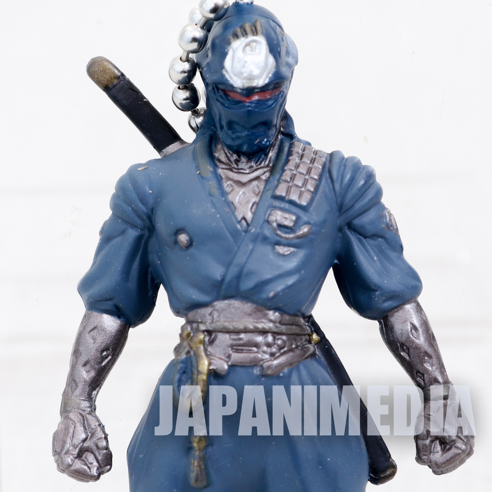 Retro Rare! Mirai Cyber Future Ninja Shiranui Figure Ballchain Namco JAPAN
