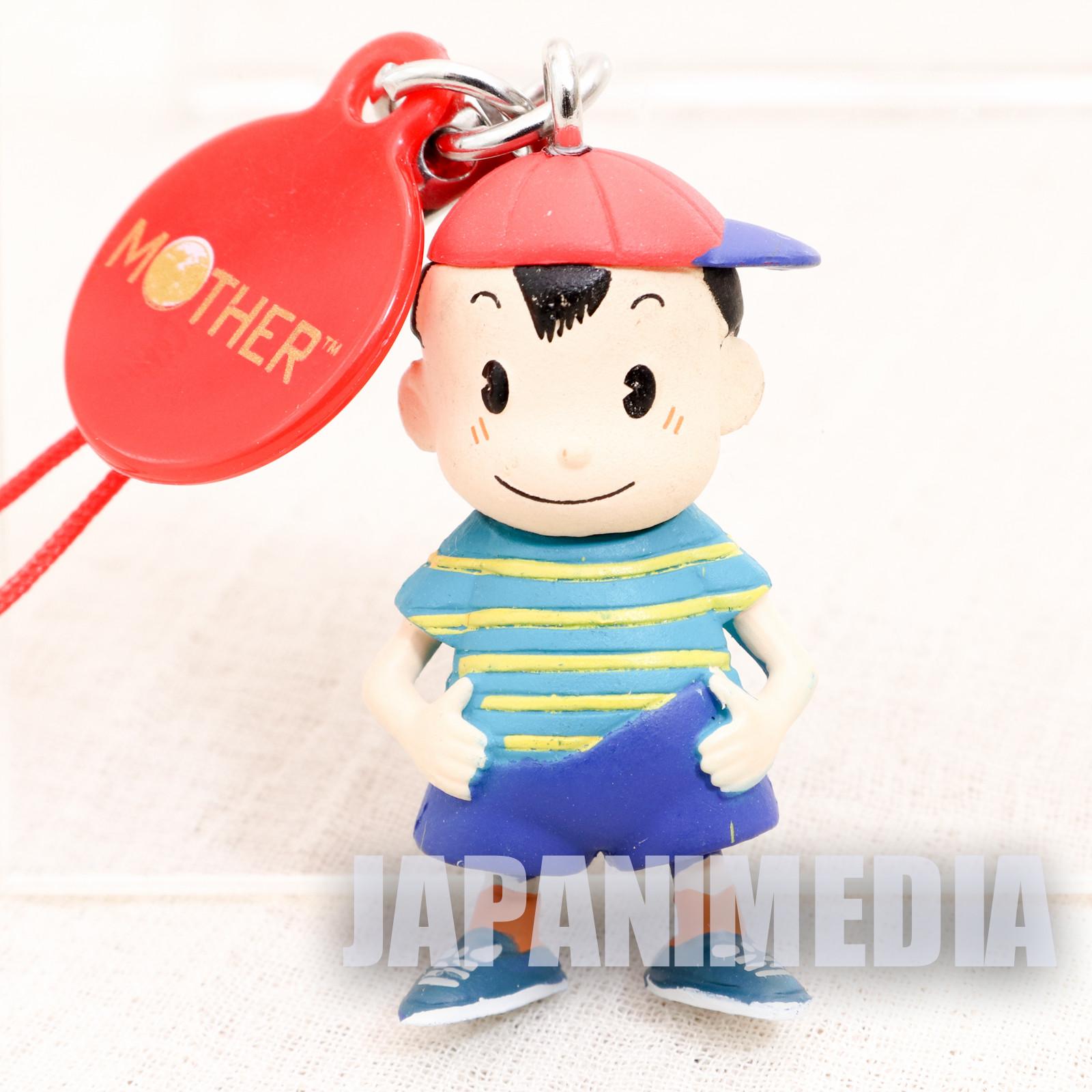Mother Ninten Figure Strap Nintendo Takara Tomy JAPAN GAME NES FAMICOM