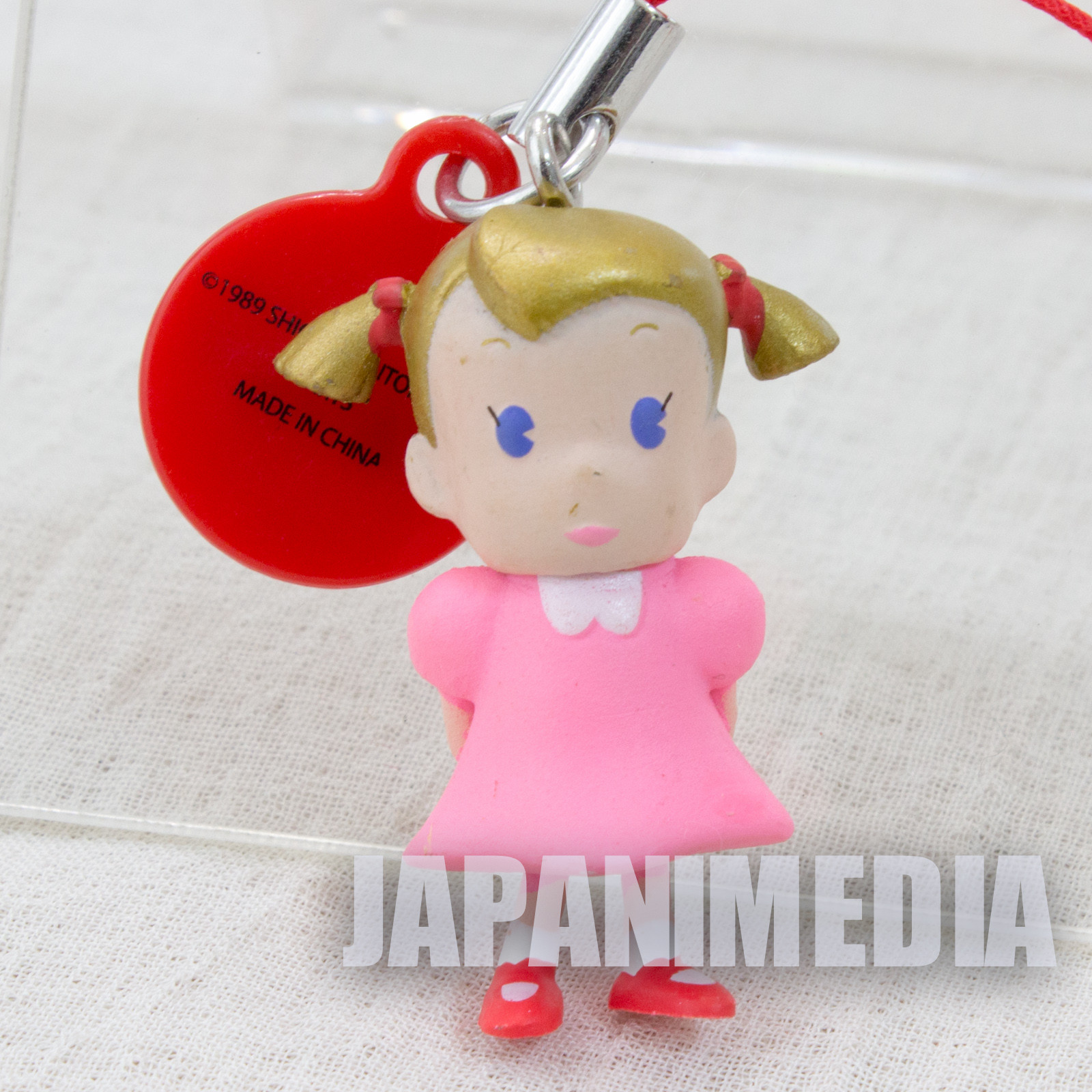 Mother Anna Figure Strap Nintendo Takara Tomy JAPAN GAME NES FAMICOM
