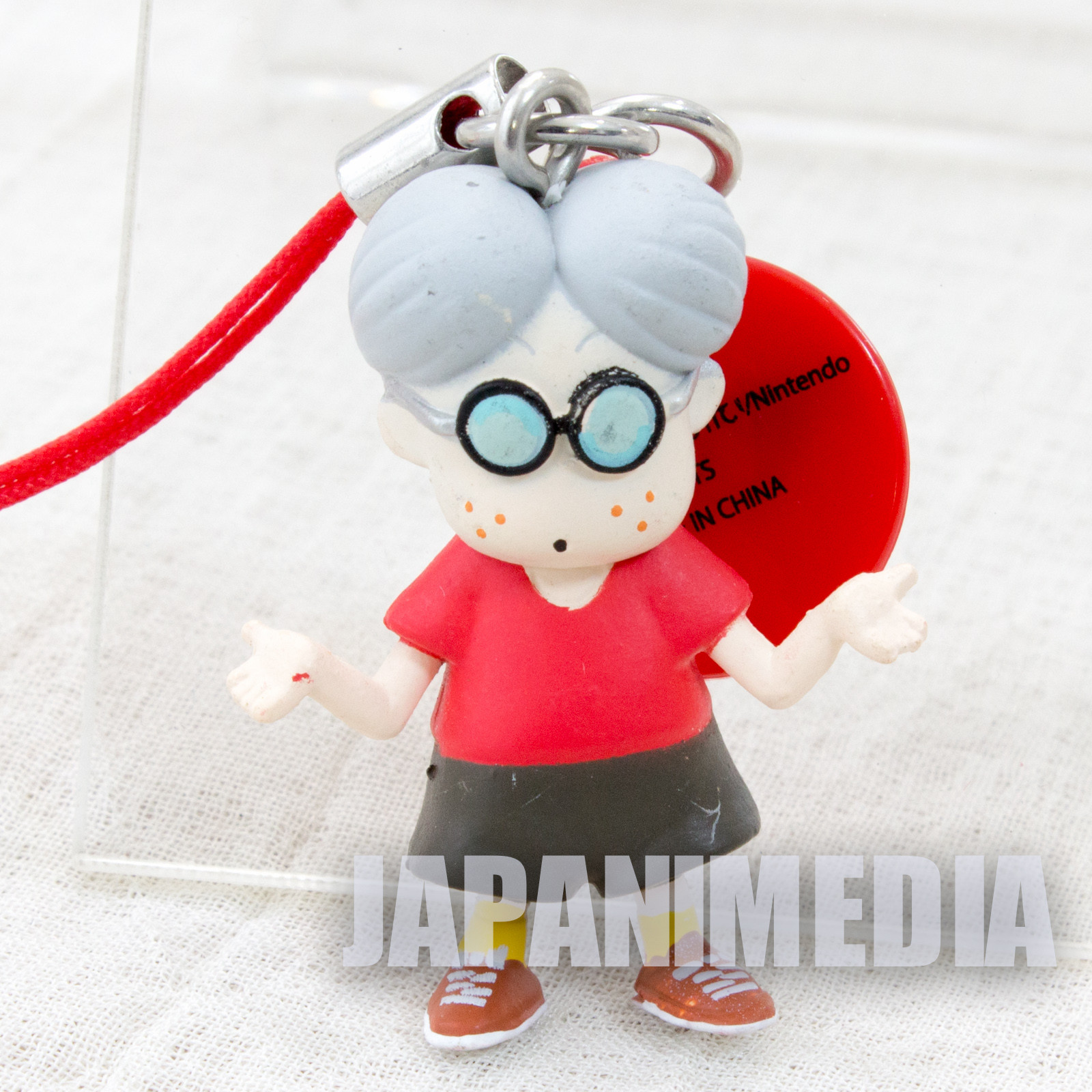 Mother Lloyd Figure Strap Nintendo Takara Tomy JAPAN GAME NES FAMICOM
