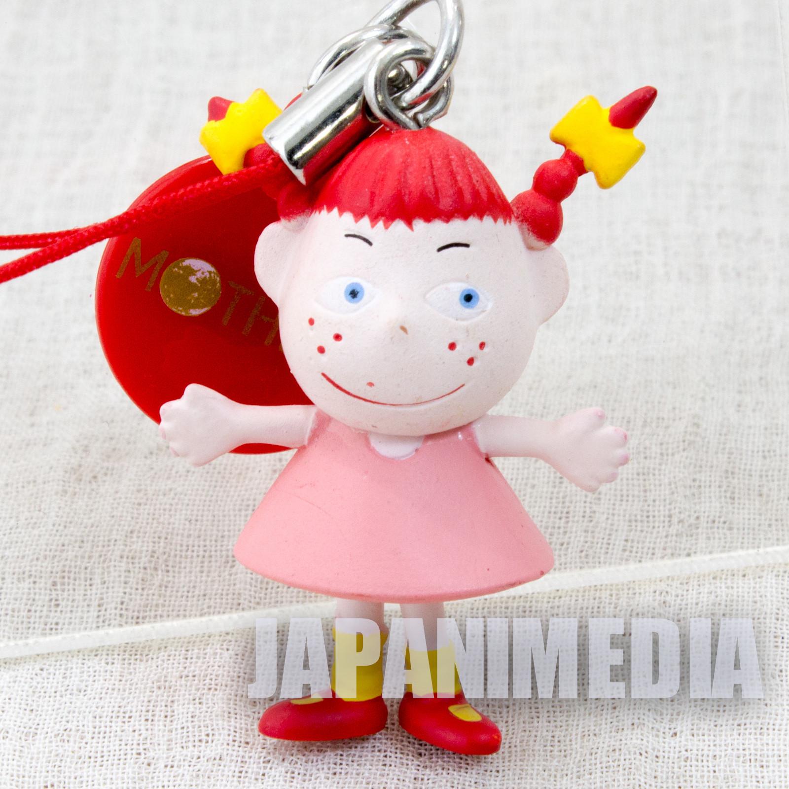 Mother Pippi Figure Strap Nintendo Takara Tomy JAPAN GAME NES FAMICOM