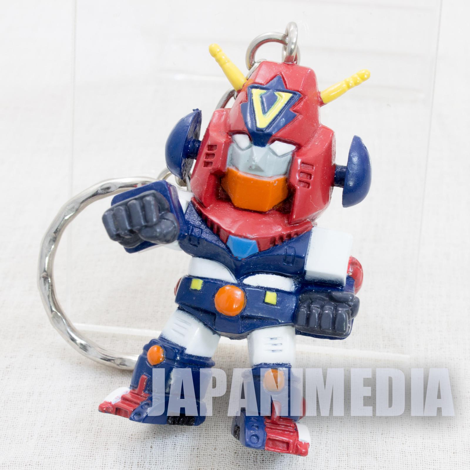 Cho Denji Robo Combattler V Figure Key Chain Super Robot Wars