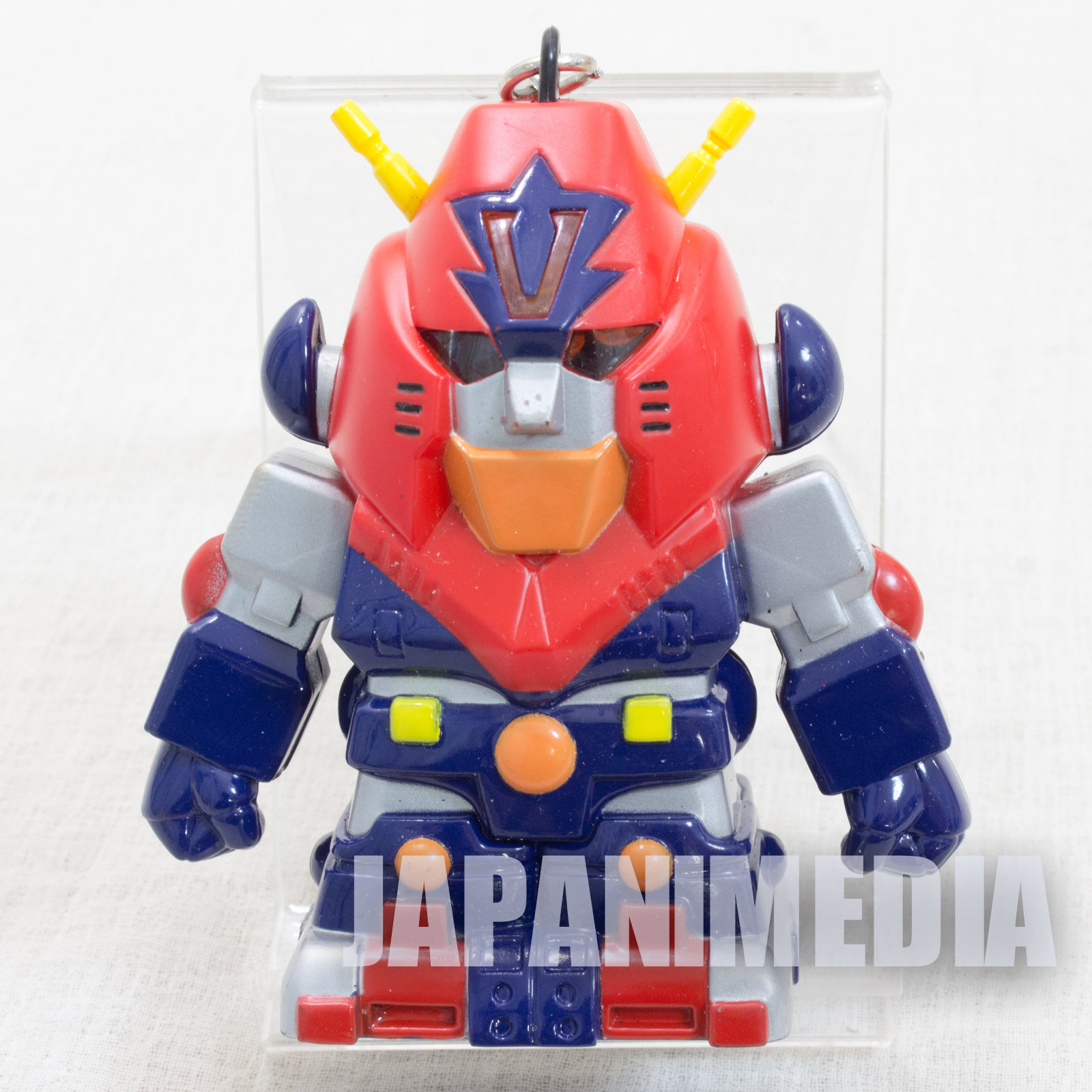 Cho Denji Robo Combattler V Plastic Figure Key Chain Super Robot Wars