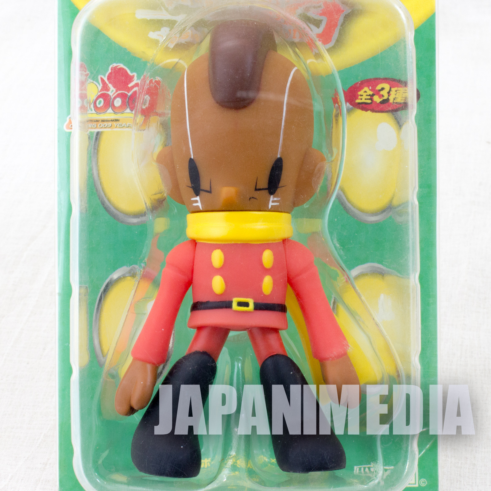 Cyborg 009 x Kaijin Geronimo Jr. 005 Soft Vinyl Figure Furyu JAPAN