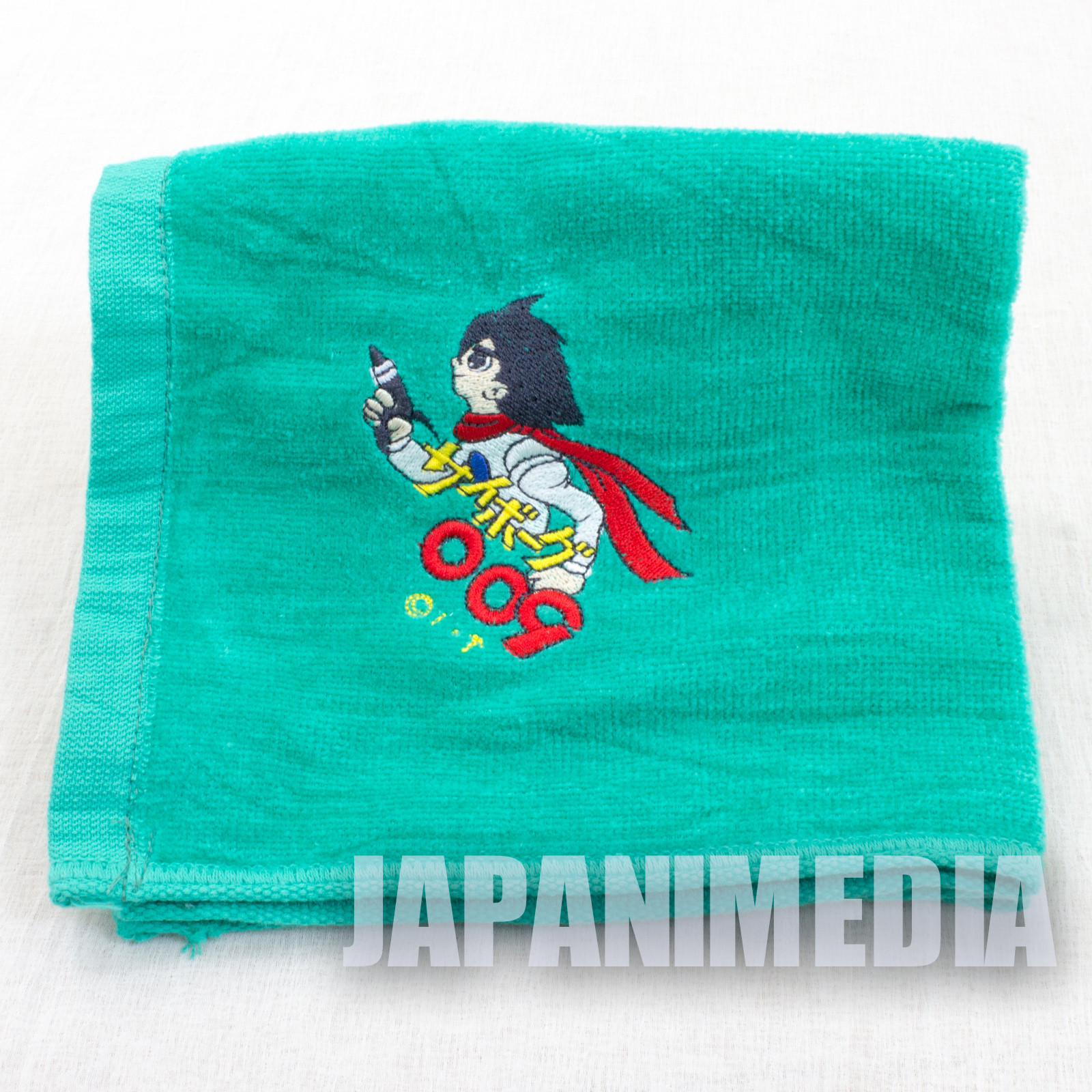 Cyborg 009 Joe Shimamura Hand Towel Toei 40th Anniversary JAPAN