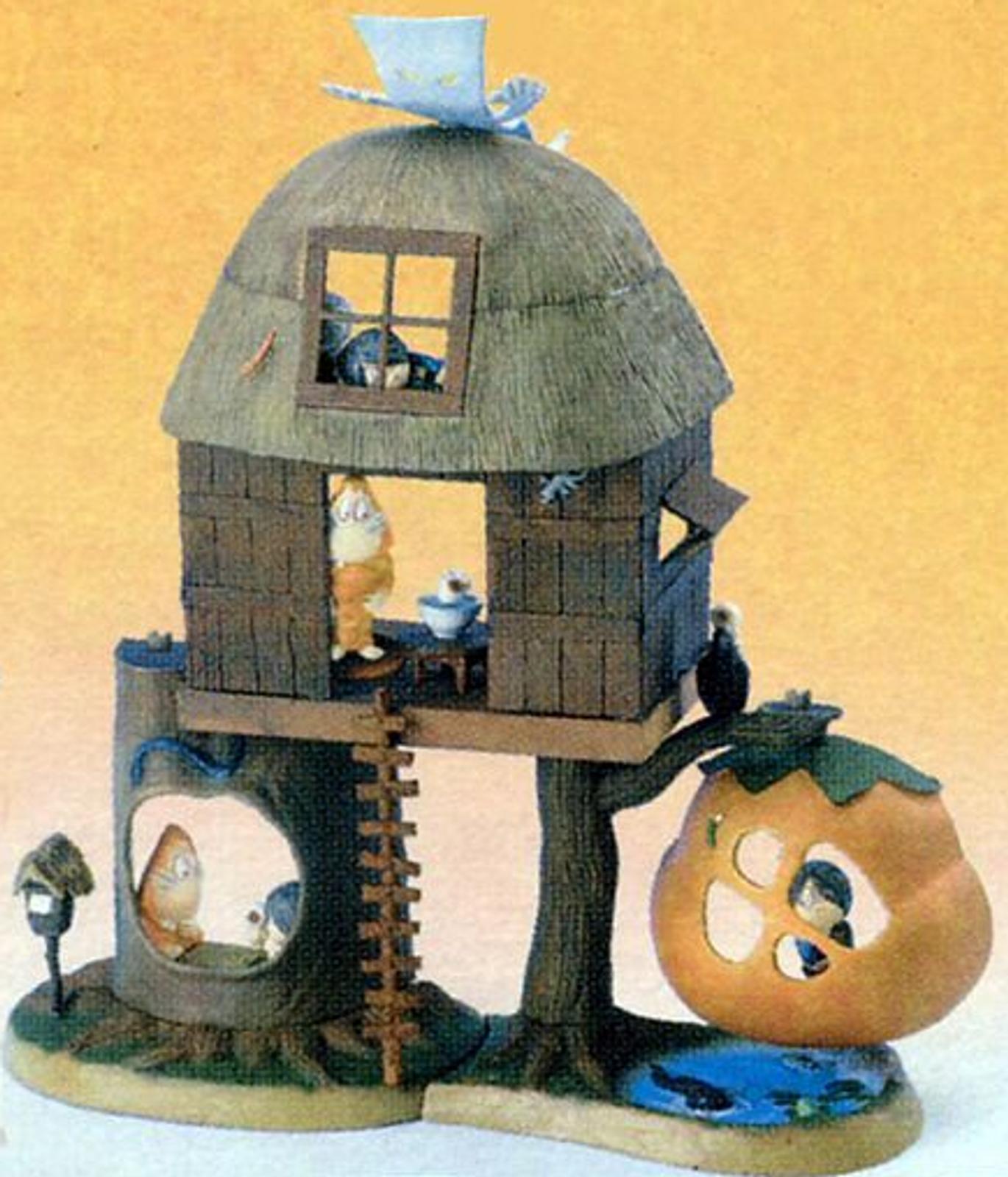 Gegege no Kitaro Yokai Yashiki Diorama Figure Complete 4pc Set Kabaya